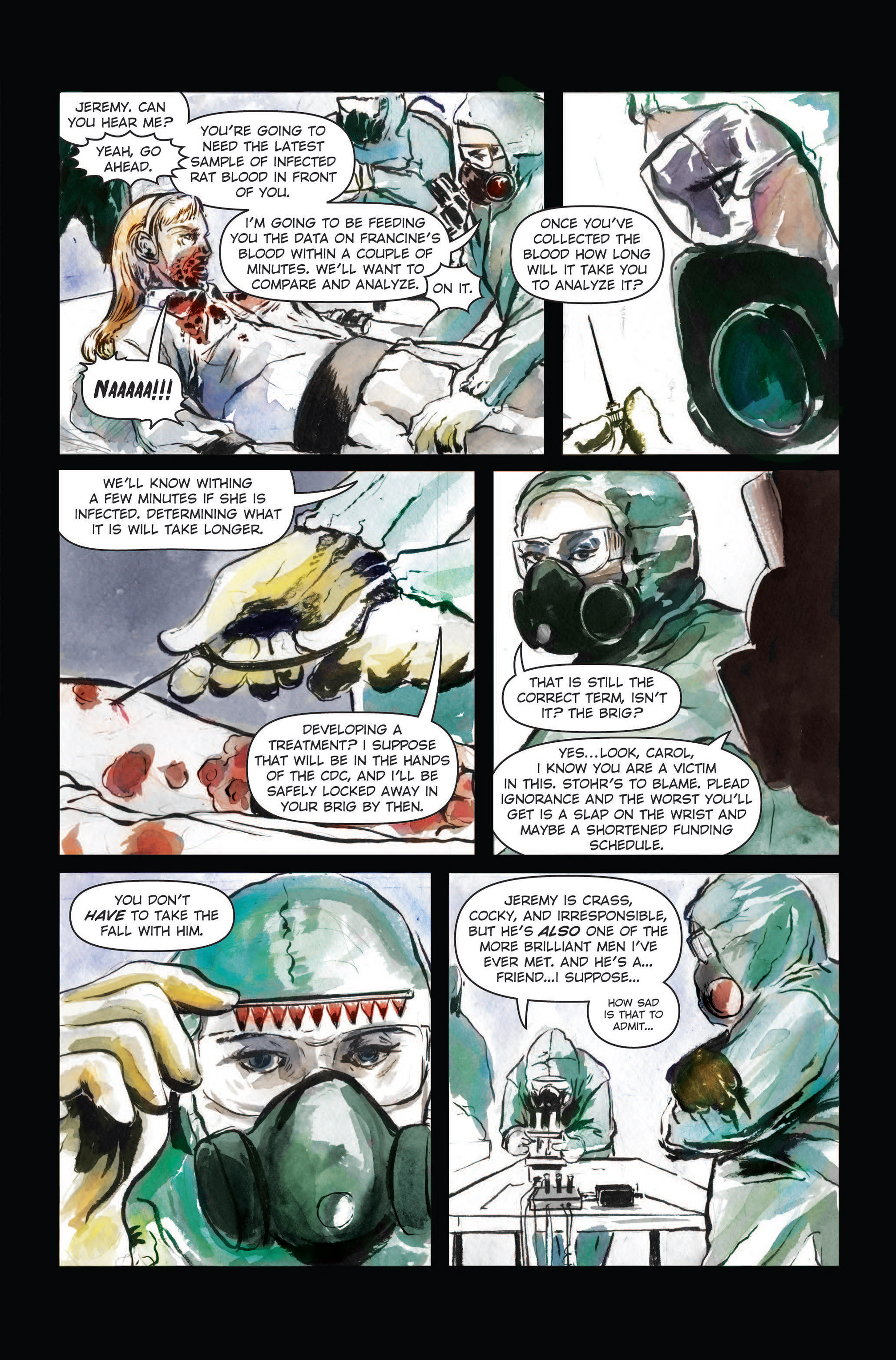 Read online The Final Plague comic -  Issue #3 - 8
