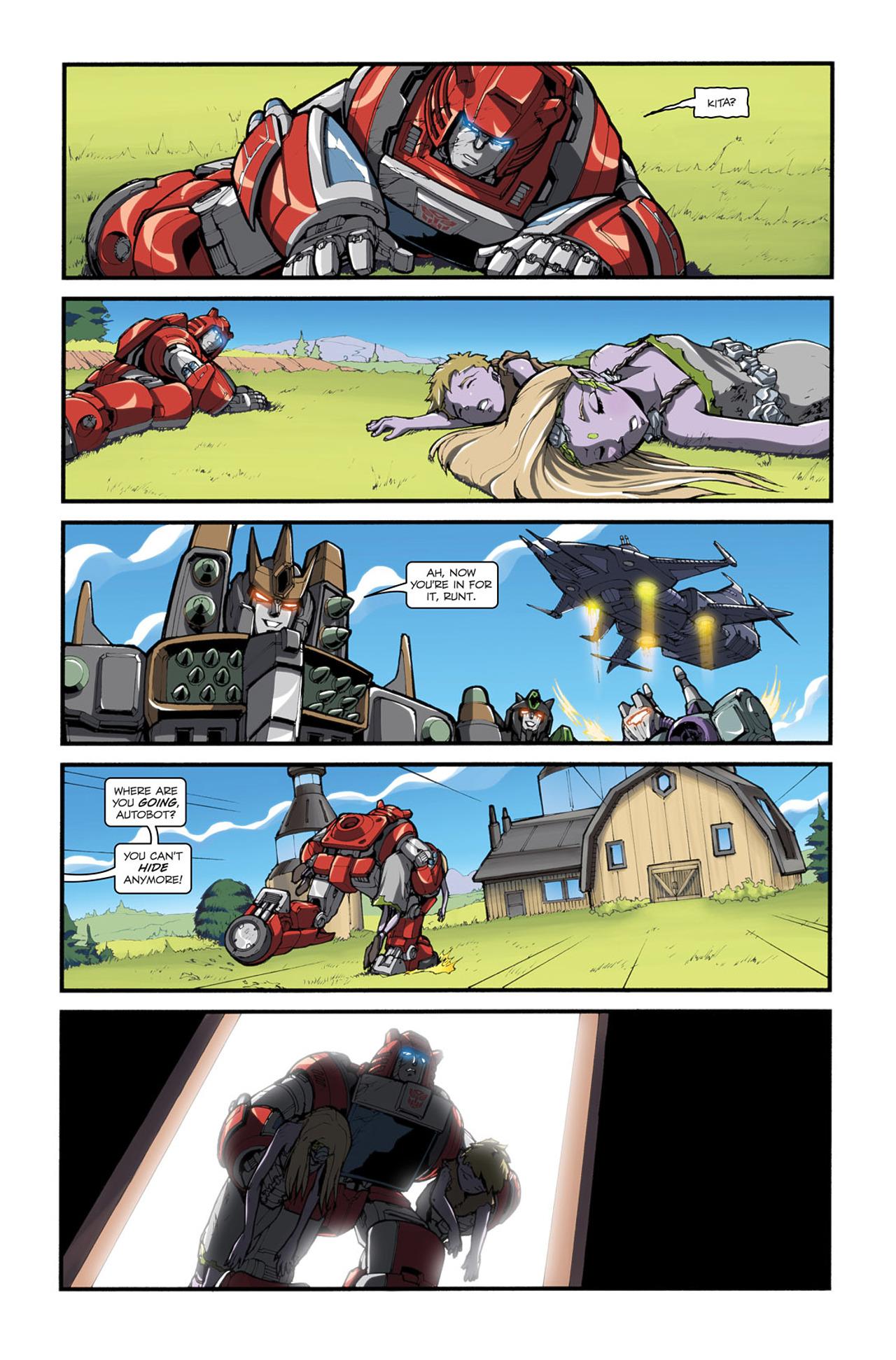 Read online Transformers Spotlight: Cliffjumper comic -  Issue # Full - 22