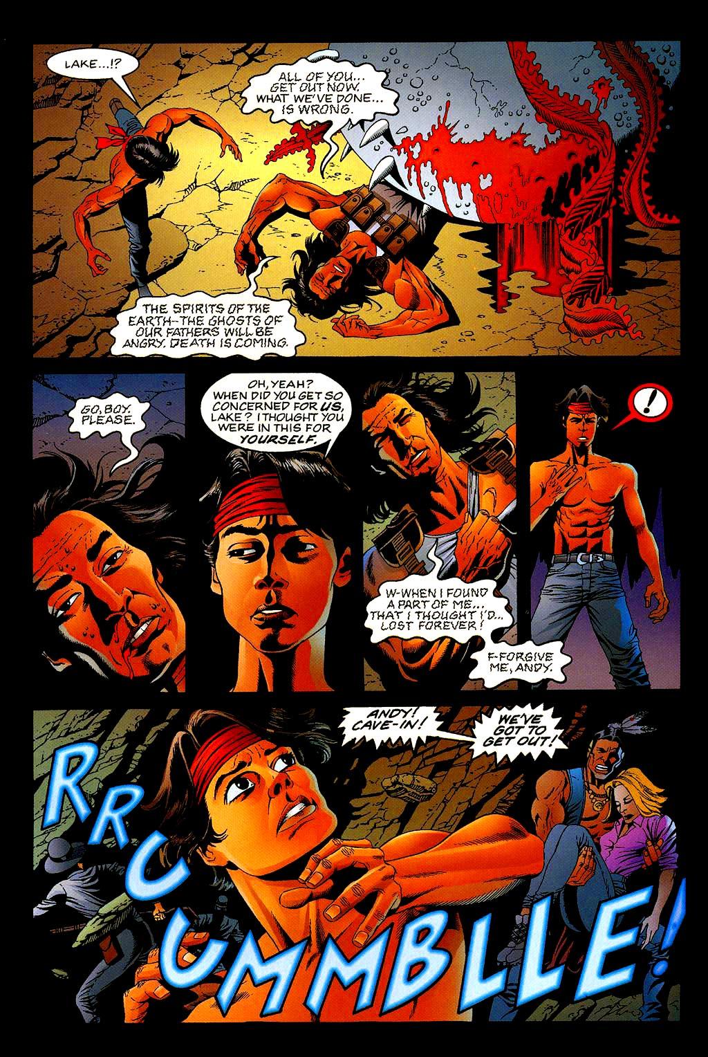 Read online Turok, Dinosaur Hunter (1993) comic -  Issue #40 - 21