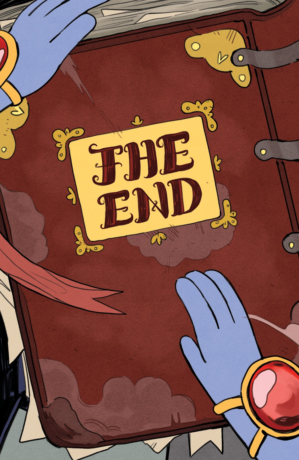 Read online Adventure Time: Beginning of the End comic -  Issue # _TPB - 96