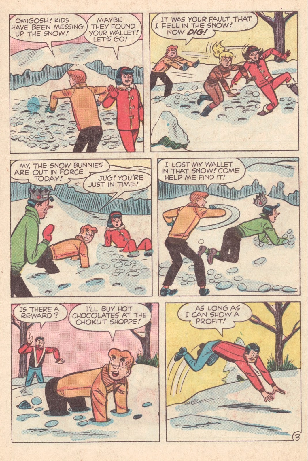 Read online Archie (1960) comic -  Issue #163 - 5