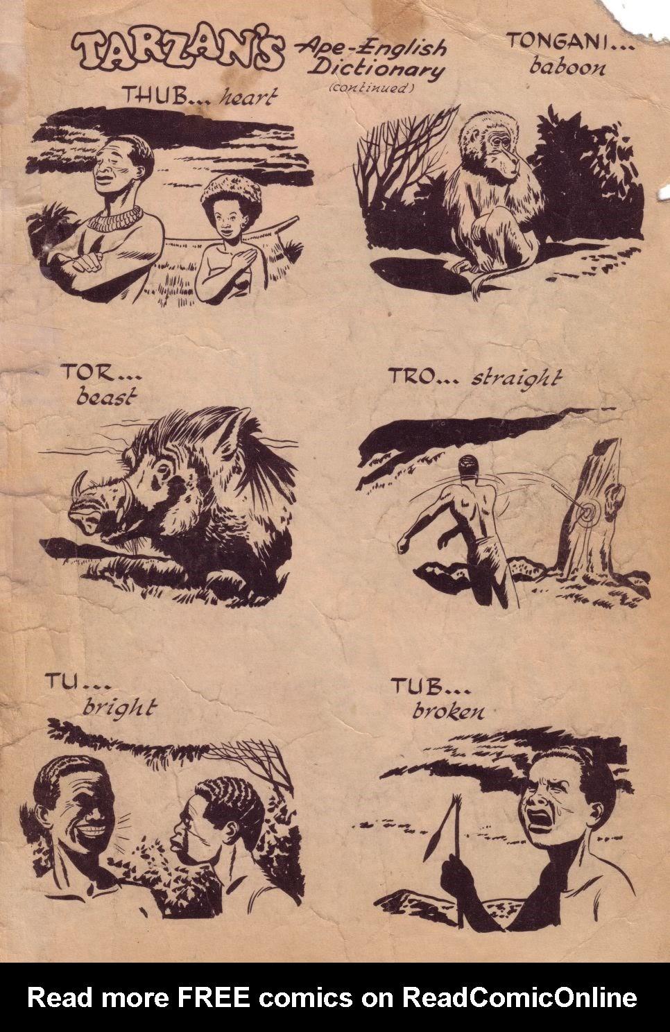 Tarzan (1948) issue 8 - Page 35