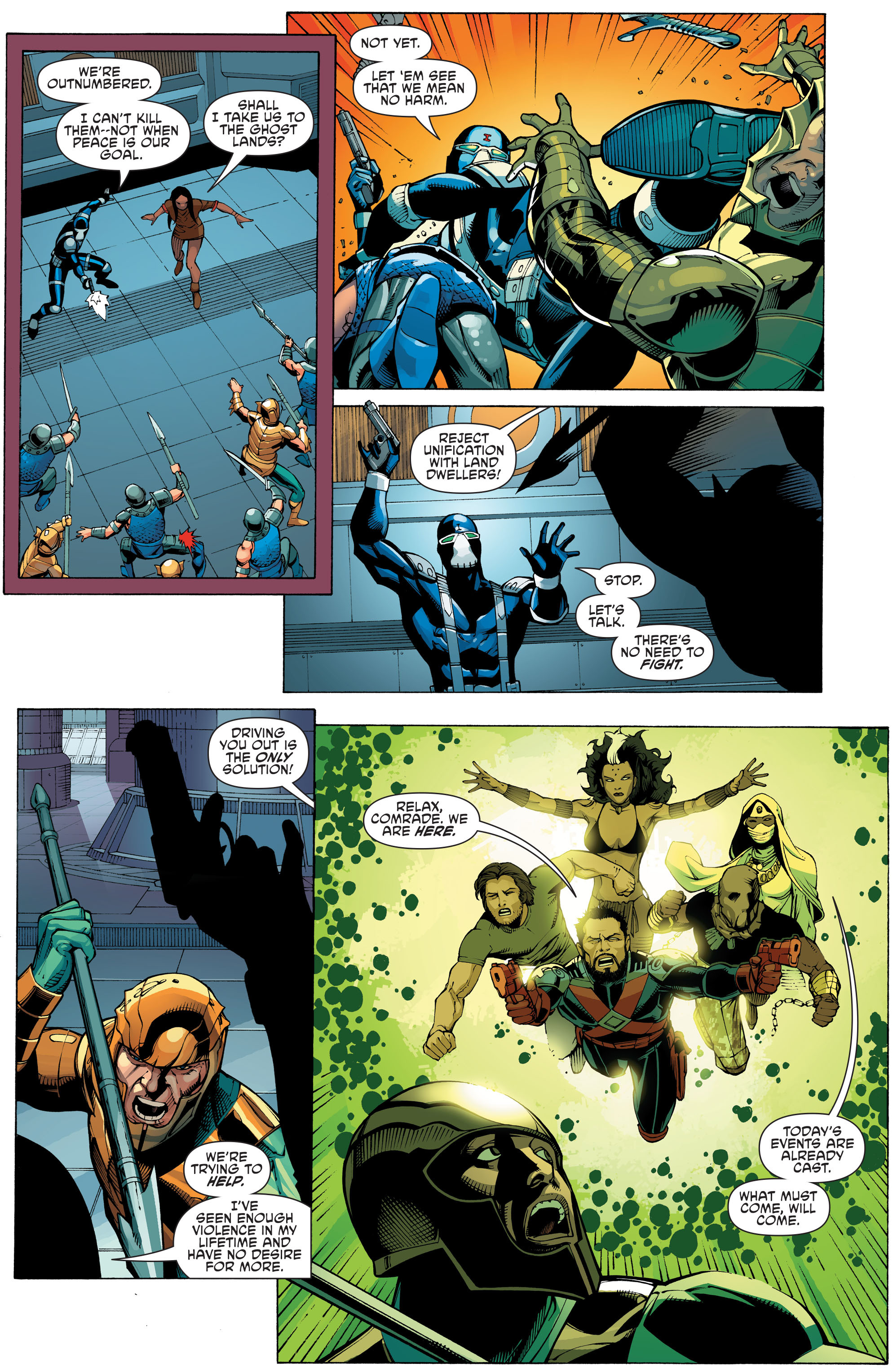 Read online Aquaman and the Others: Futures End comic -  Issue #Aquaman and the Others: Futures End Full - 10