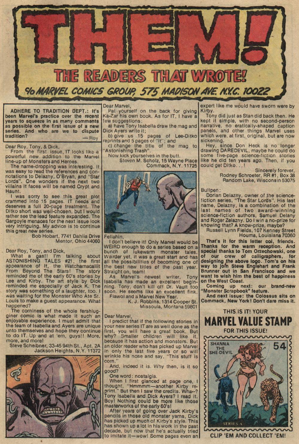 Read online Astonishing Tales (1970) comic -  Issue #23 - 20