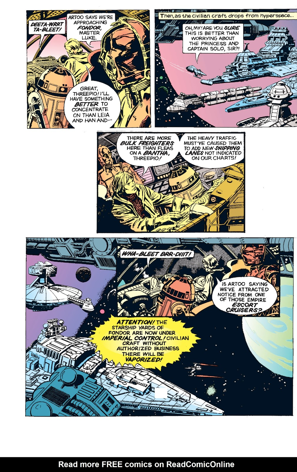 Read online Star Wars Legends: The Newspaper Strips - Epic Collection comic -  Issue # TPB (Part 5) - 40