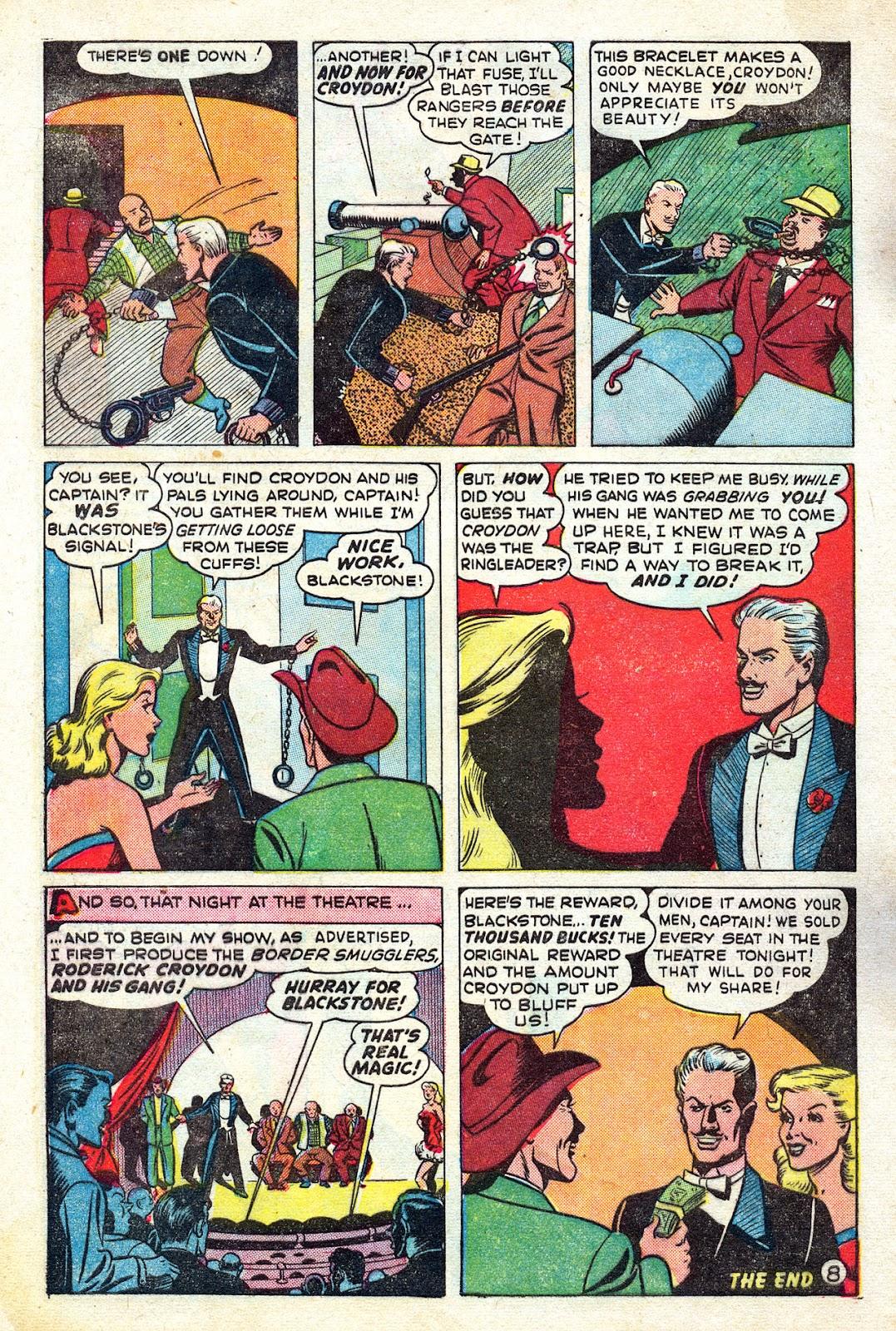 Read online Blackstone the Magician comic -  Issue #4 - 10