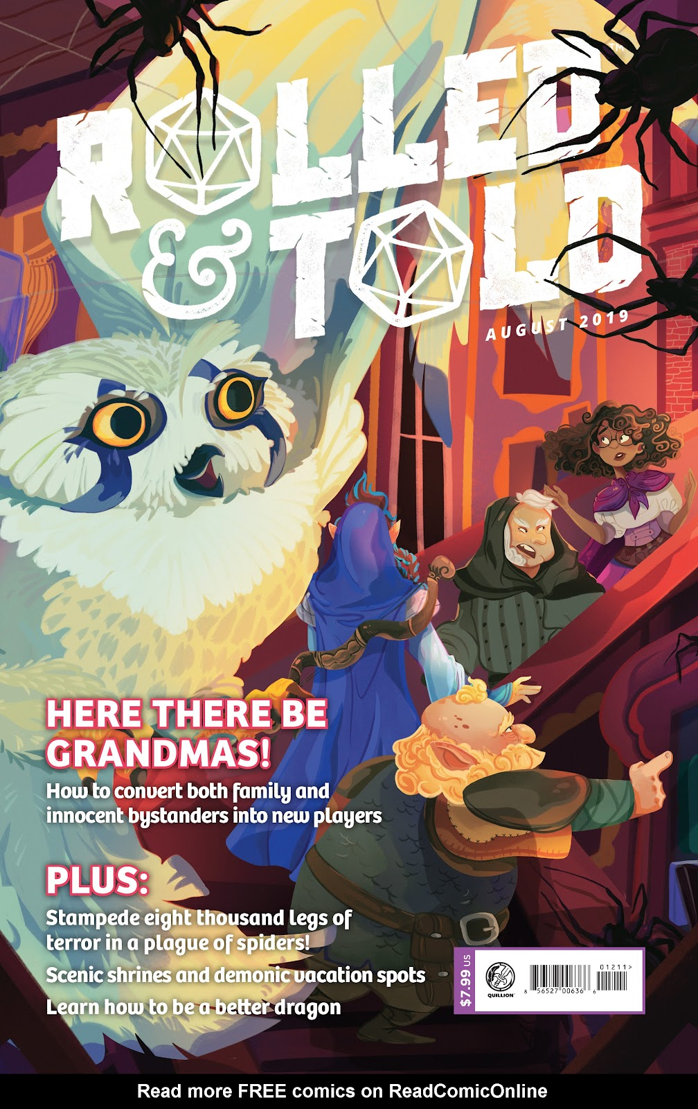 Read online Rolled & Told comic -  Issue #12 - 1