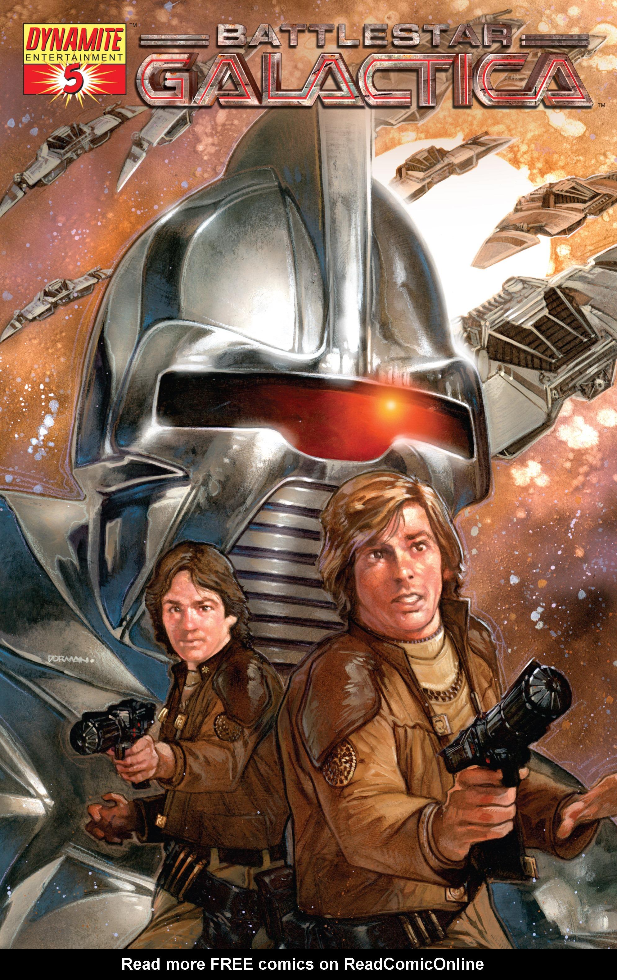 Classic Battlestar Galactica (2006) 5 Page 1