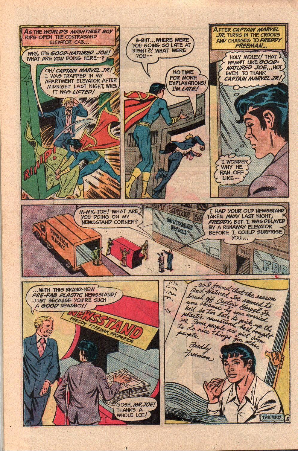 Read online Shazam! (1973) comic -  Issue #9 - 22