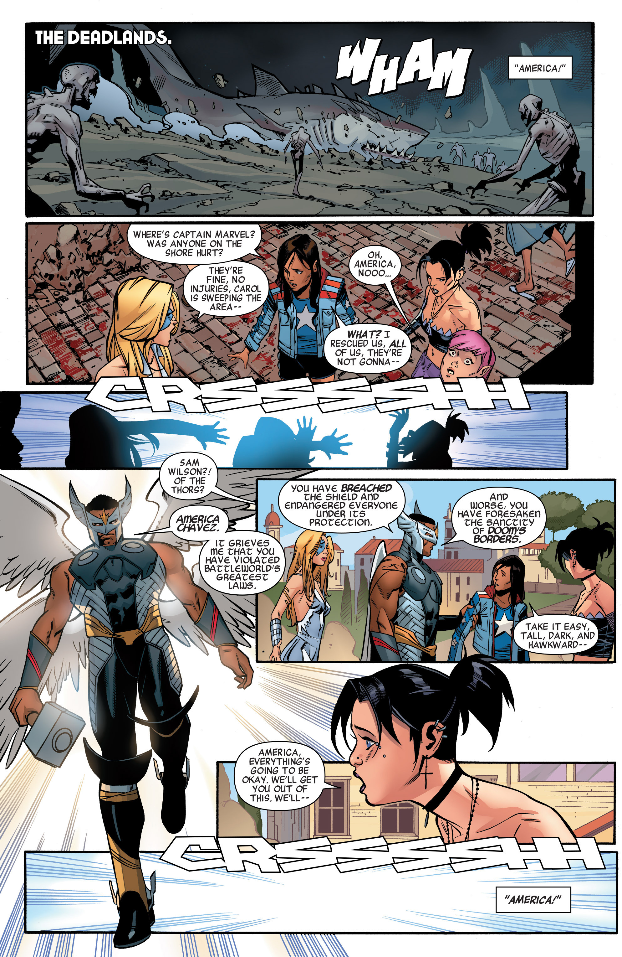 Read online A-Force (2015) comic -  Issue #1 - 11