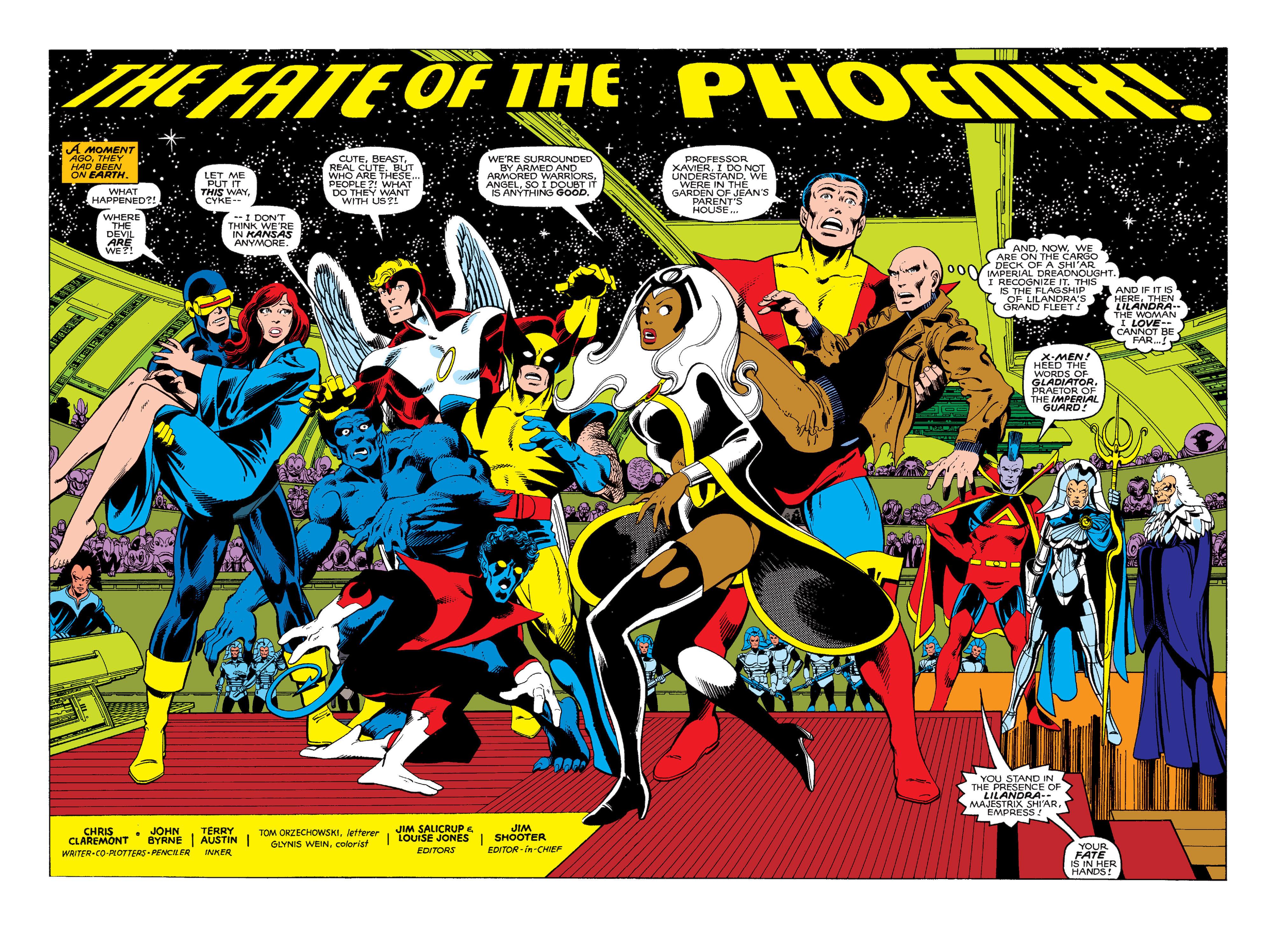 Uncanny X-Men (1963) 137 Page 2
