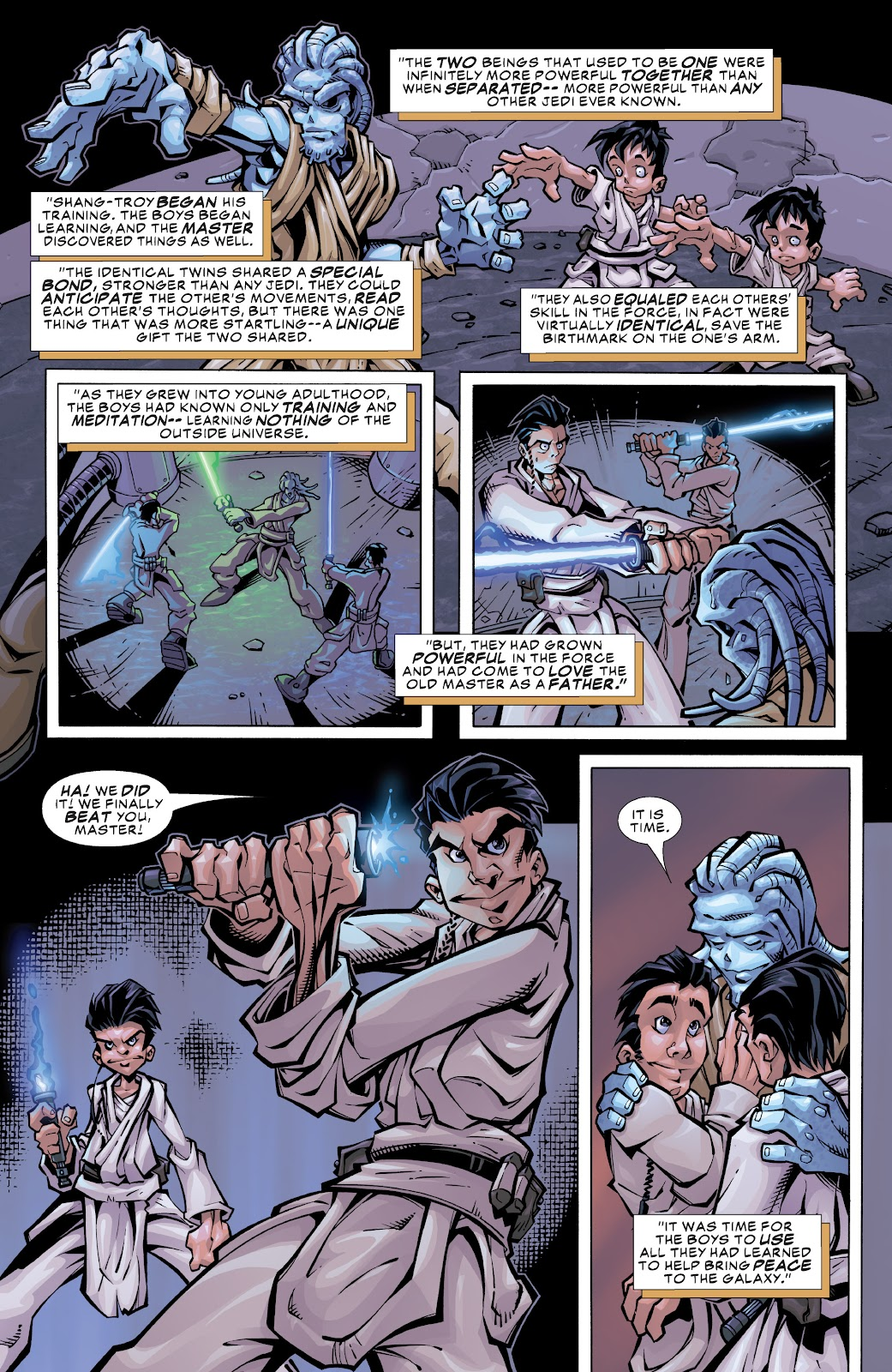 Read online Star Wars Legends: Rise of the Sith - Epic Collection comic -  Issue # TPB 1 (Part 3) - 3