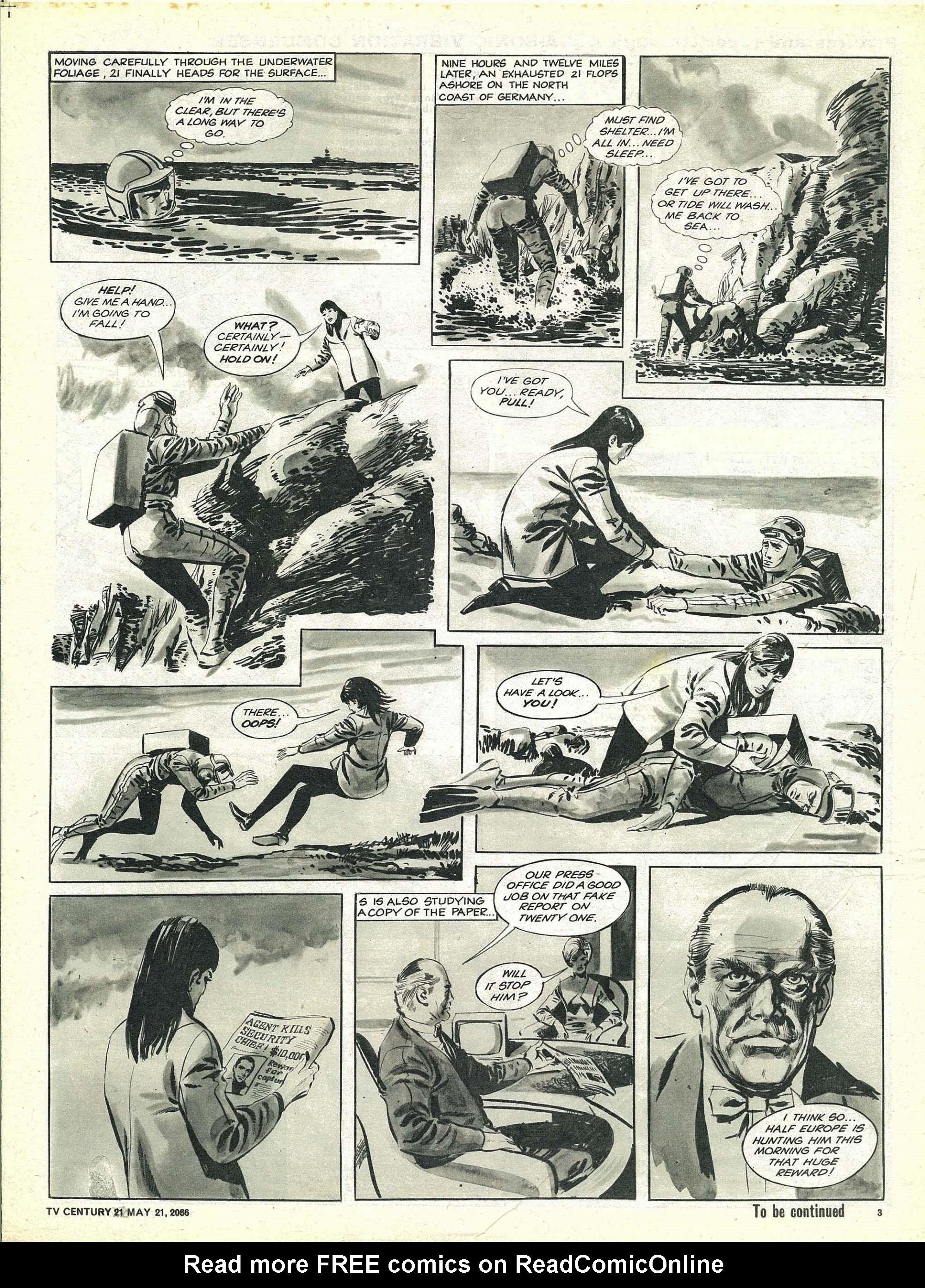 Read online TV Century 21 (TV 21) comic -  Issue #70 - 3