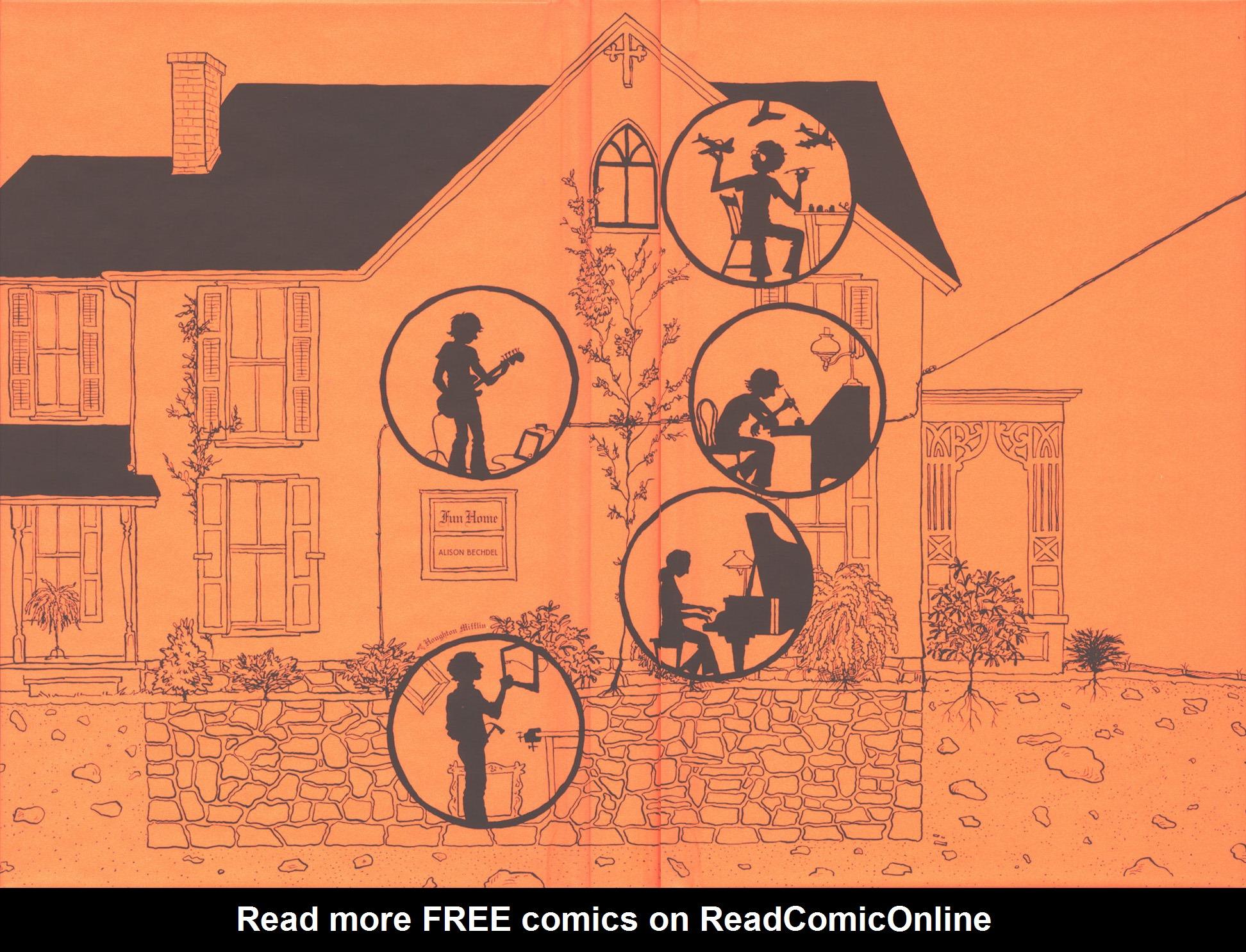Read online Fun Home: A Family Tragicomic comic -  Issue # TPB - 2
