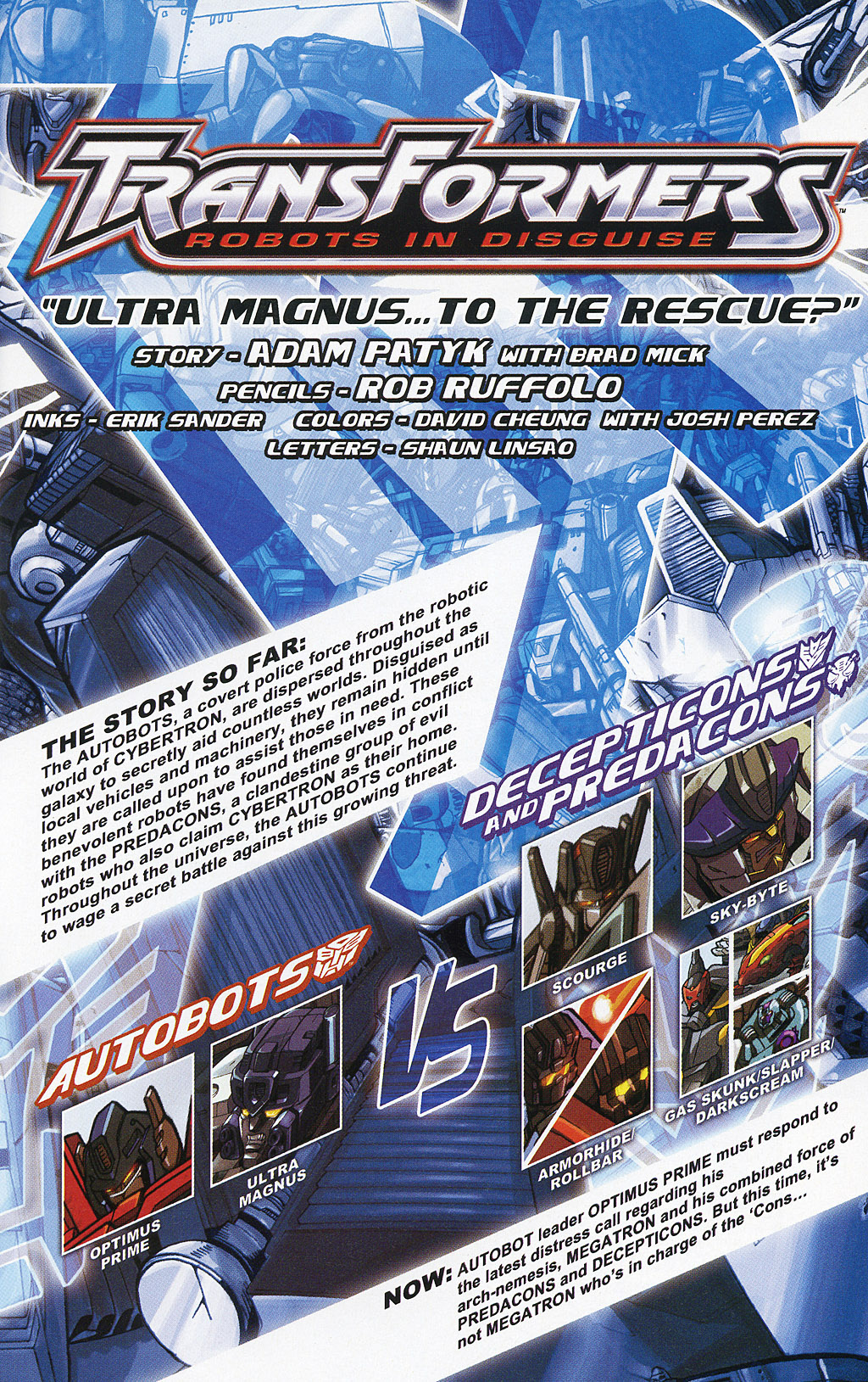 Read online Transformers 20th Anniversary Summer Special comic -  Issue # Full - 22