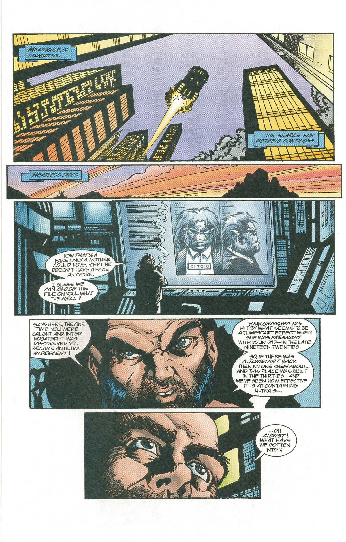 Read online UltraForce (1995) comic -  Issue #7 - 16