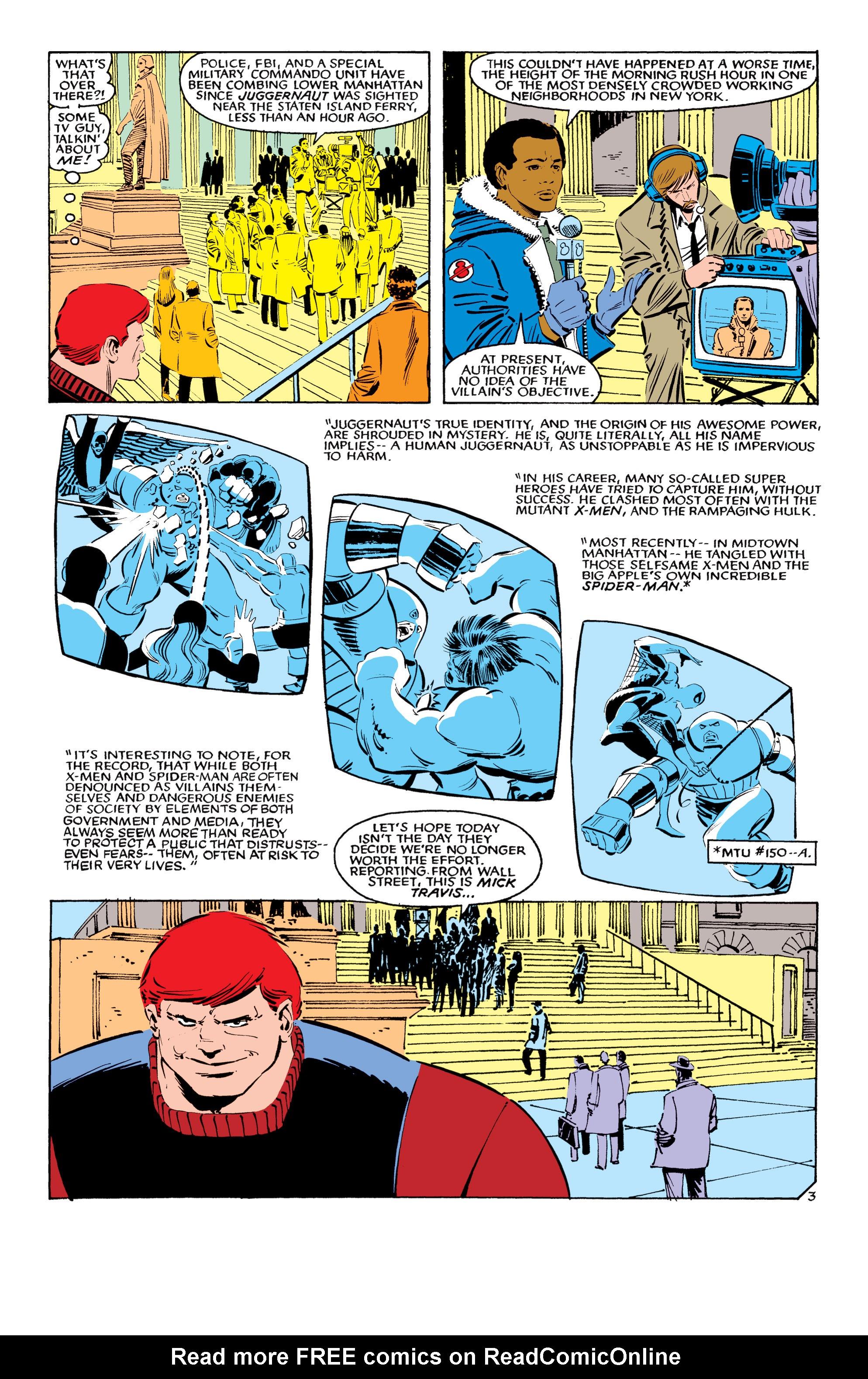 Read online Uncanny X-Men (1963) comic -  Issue #194 - 4