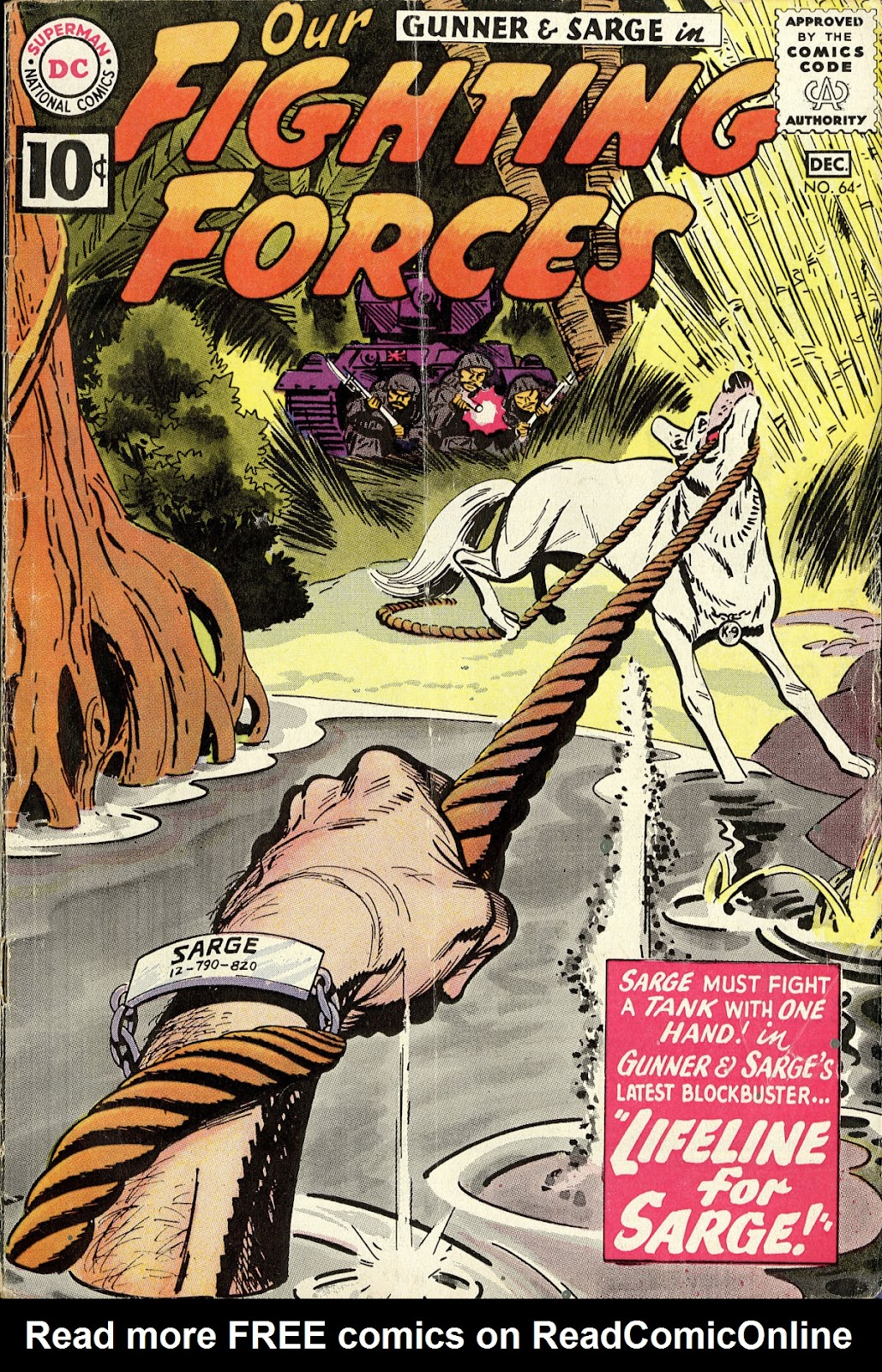 Our Fighting Forces (1954) issue 64 - Page 1