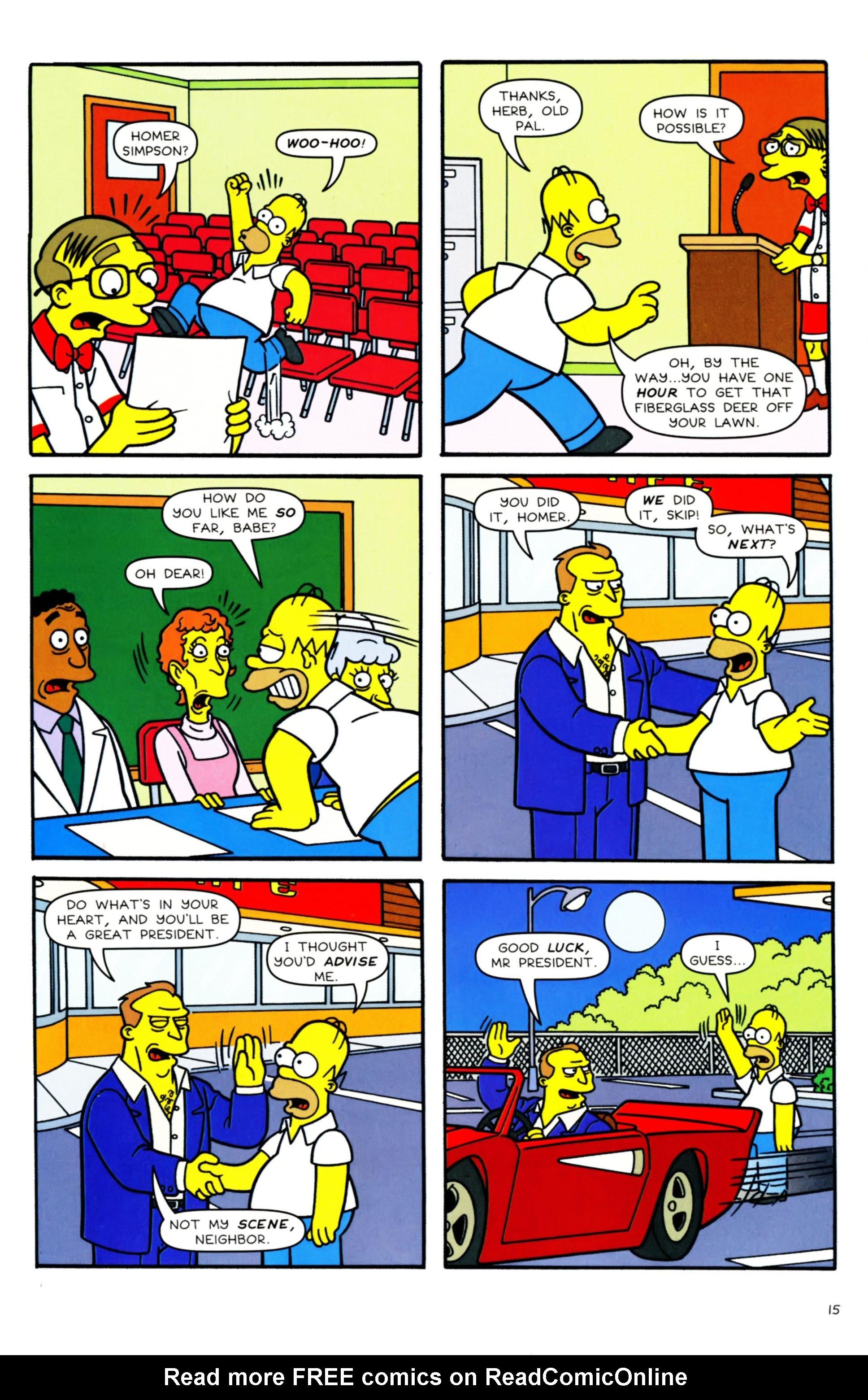 Read online Simpsons Comics comic -  Issue #158 - 12