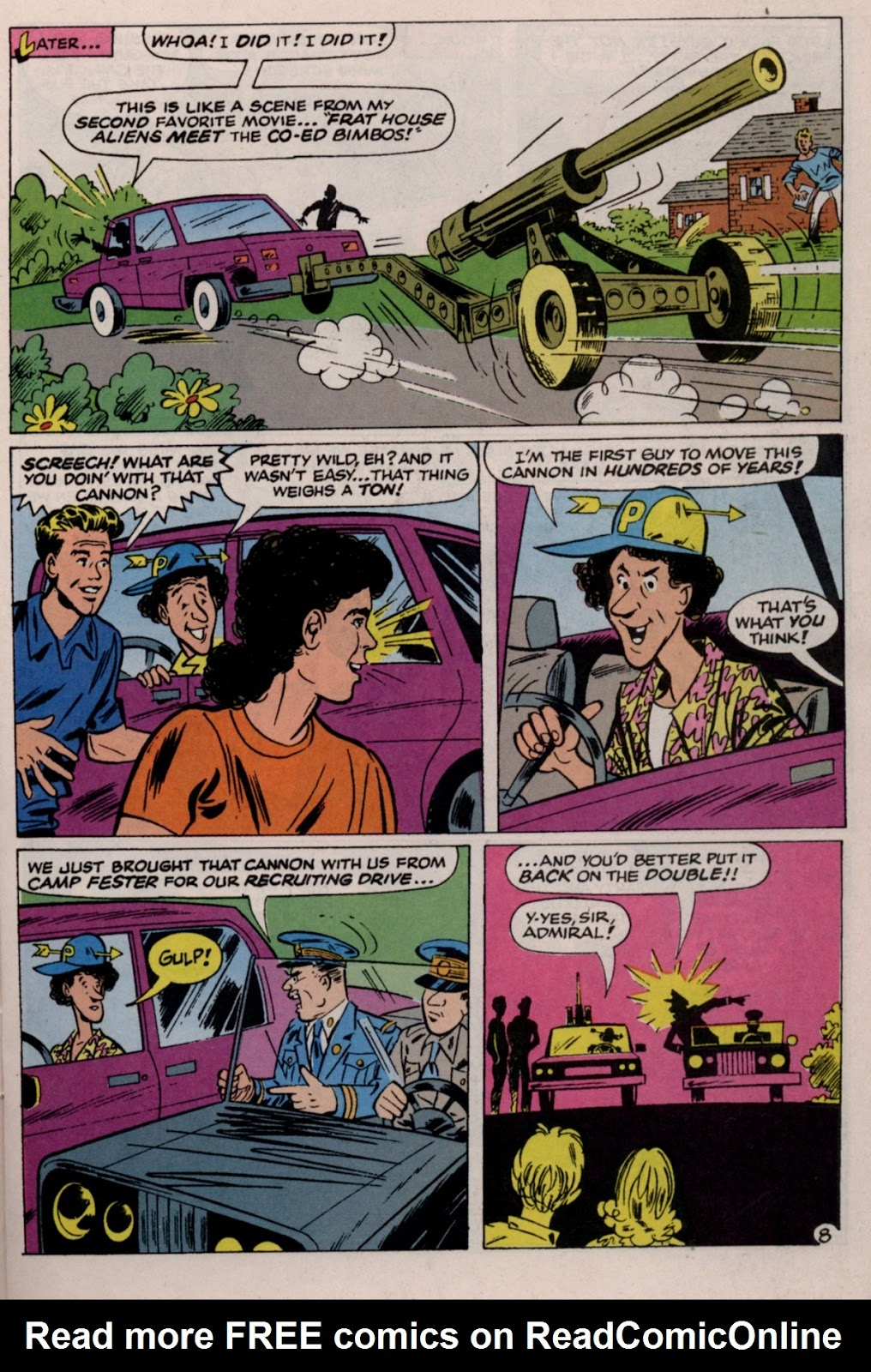 Read online Saved By The Bell comic -  Issue #2 - 13