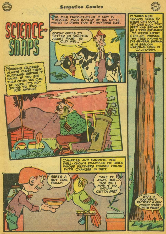 Read online Sensation (Mystery) Comics comic -  Issue #80 - 39