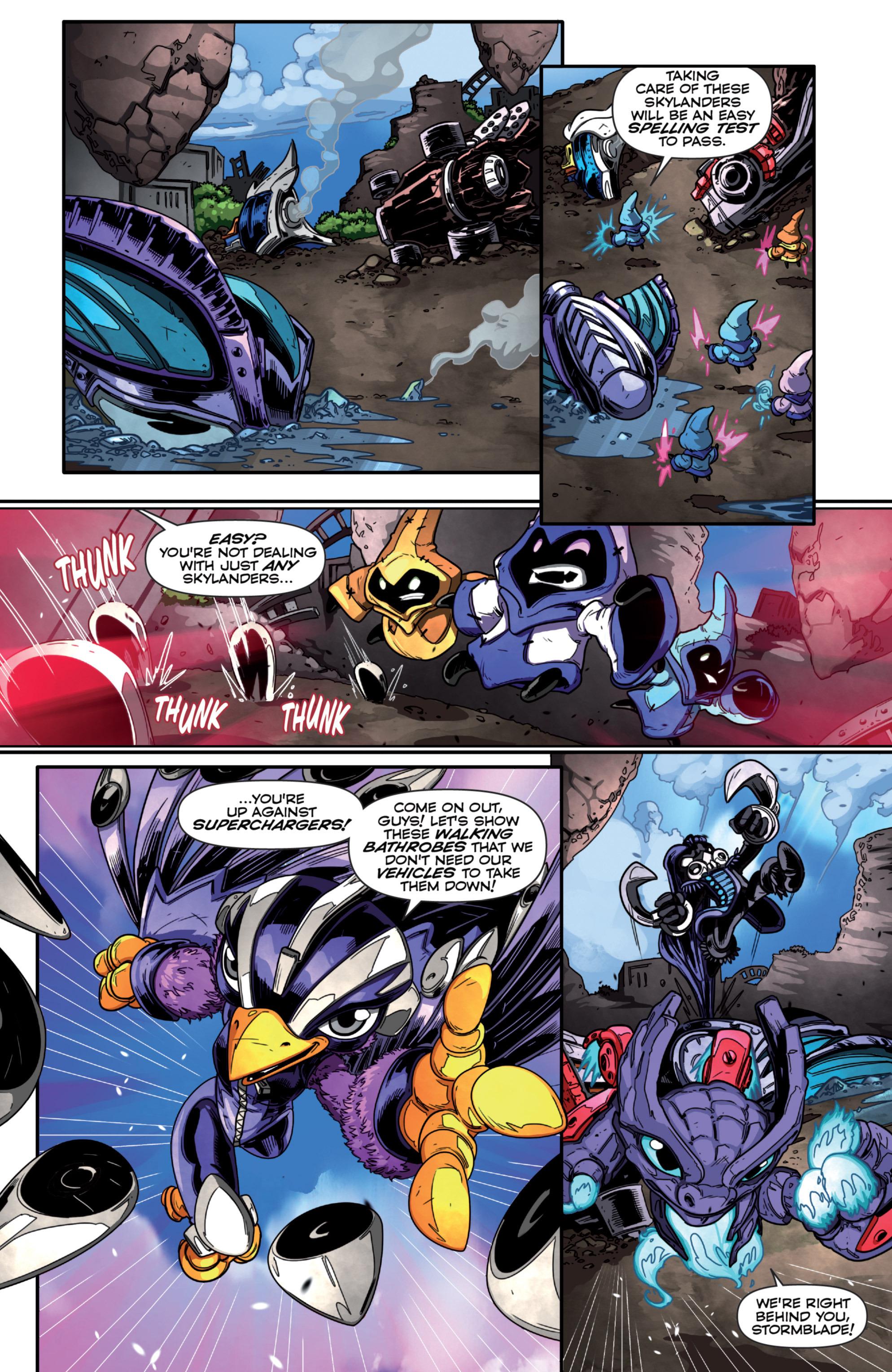 Read online Skylanders Superchargers comic -  Issue #1 - 16