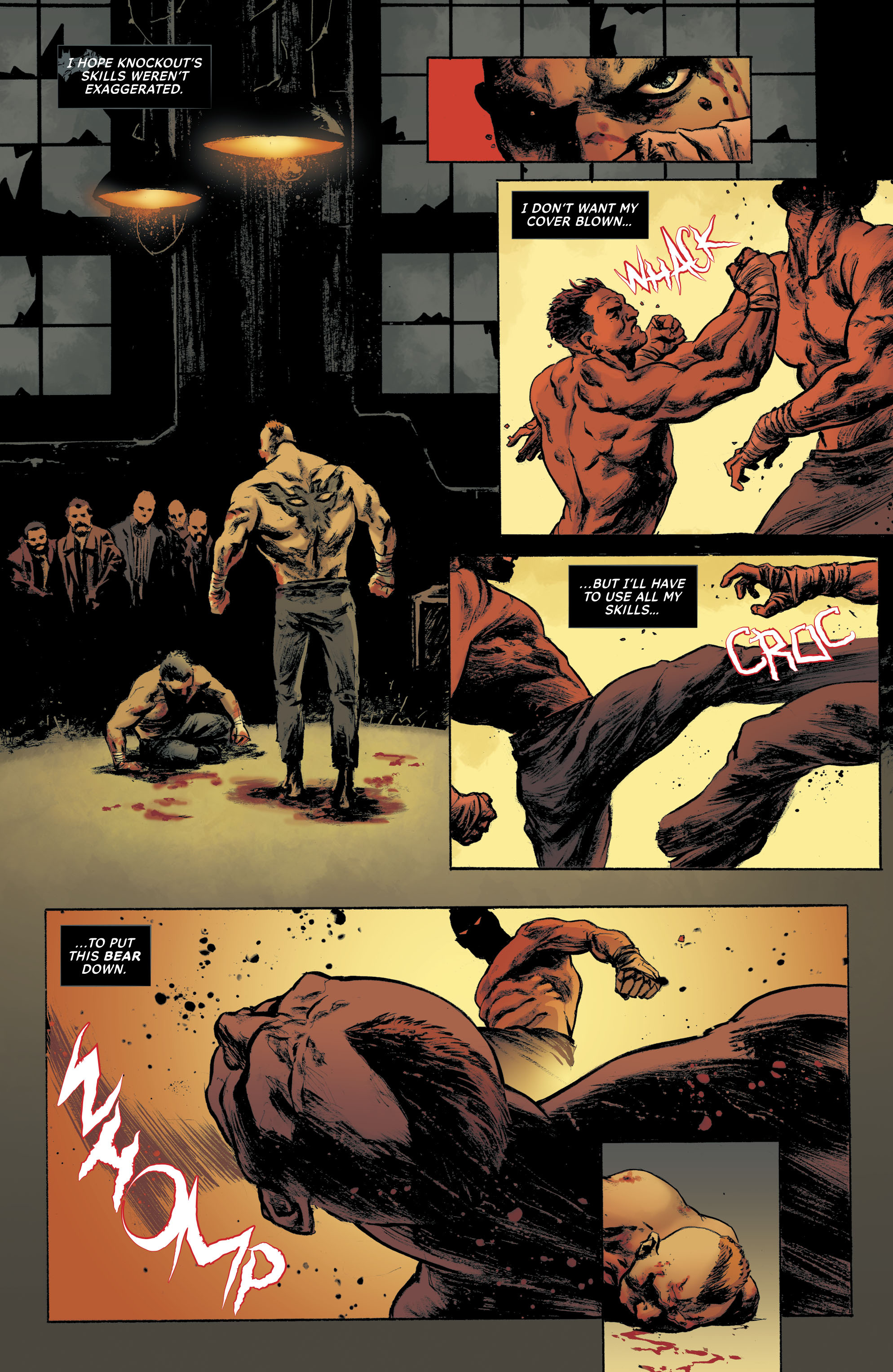 Read online All-Star Batman comic -  Issue #10 - 31
