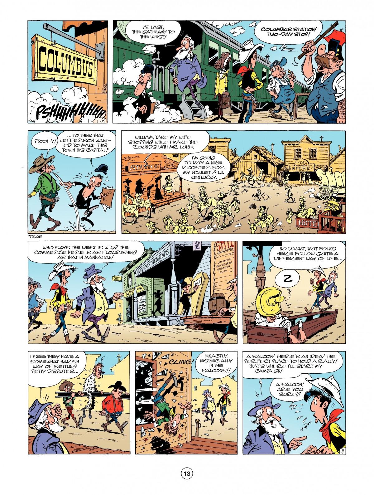 Read online A Lucky Luke Adventure comic -  Issue #39 - 13
