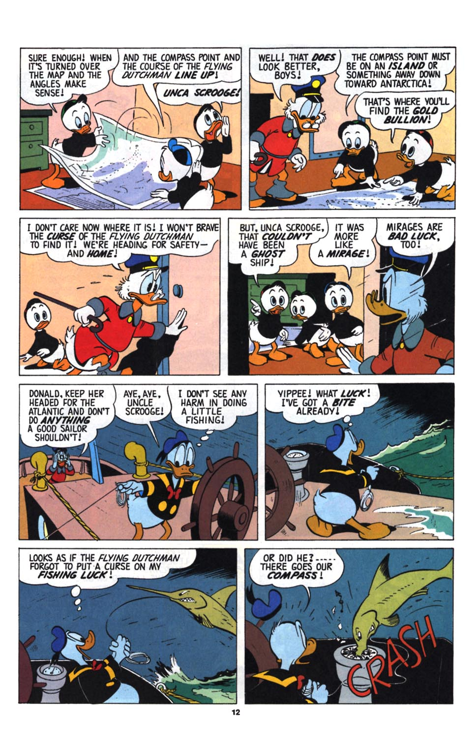 Read online Uncle Scrooge (1953) comic -  Issue #255 - 14