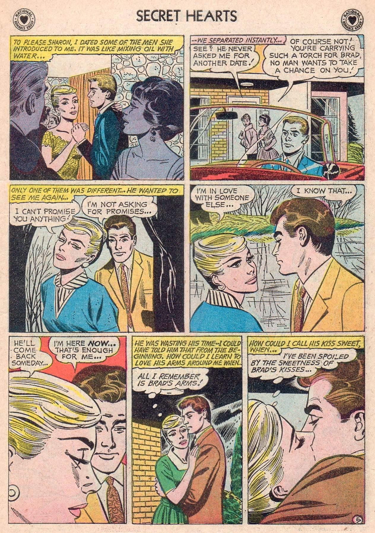 Read online Secret Hearts comic -  Issue #67 - 15
