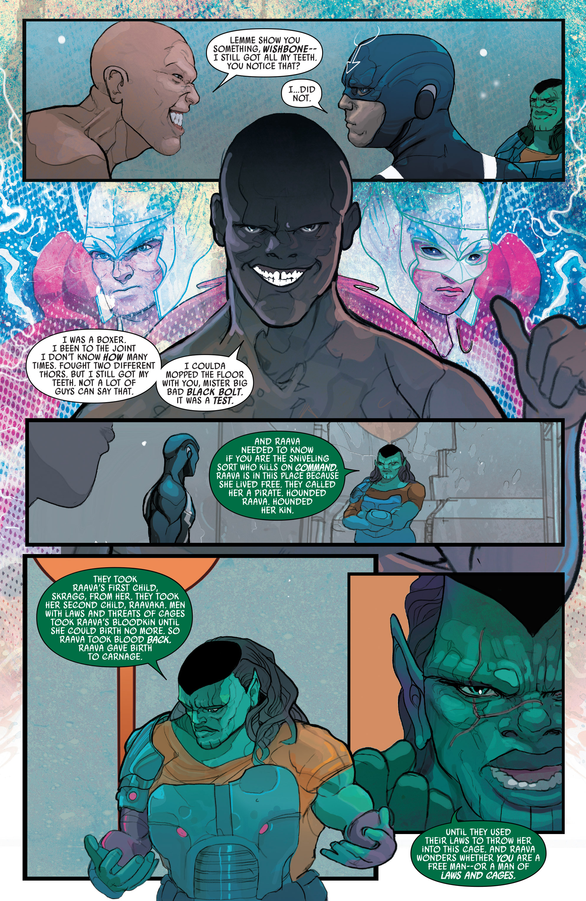 Read online Black Bolt comic -  Issue #2 - 18