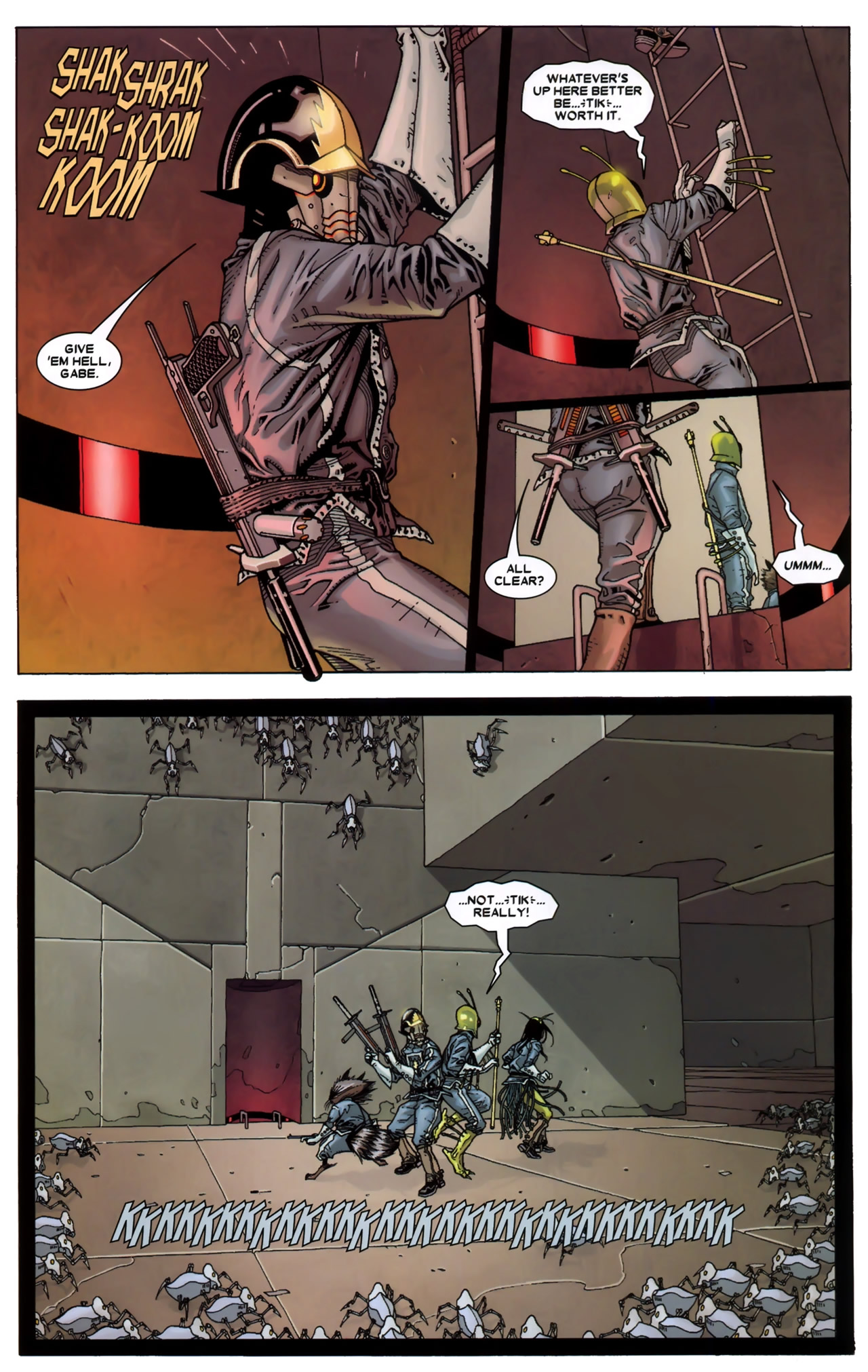Read online Annihilation: Conquest - Starlord comic -  Issue #3 - 20