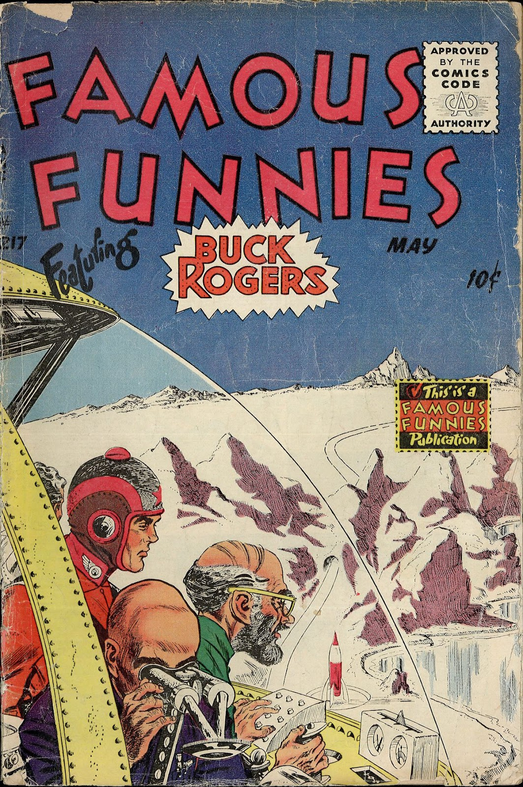 Read online Famous Funnies comic -  Issue #217 - 1