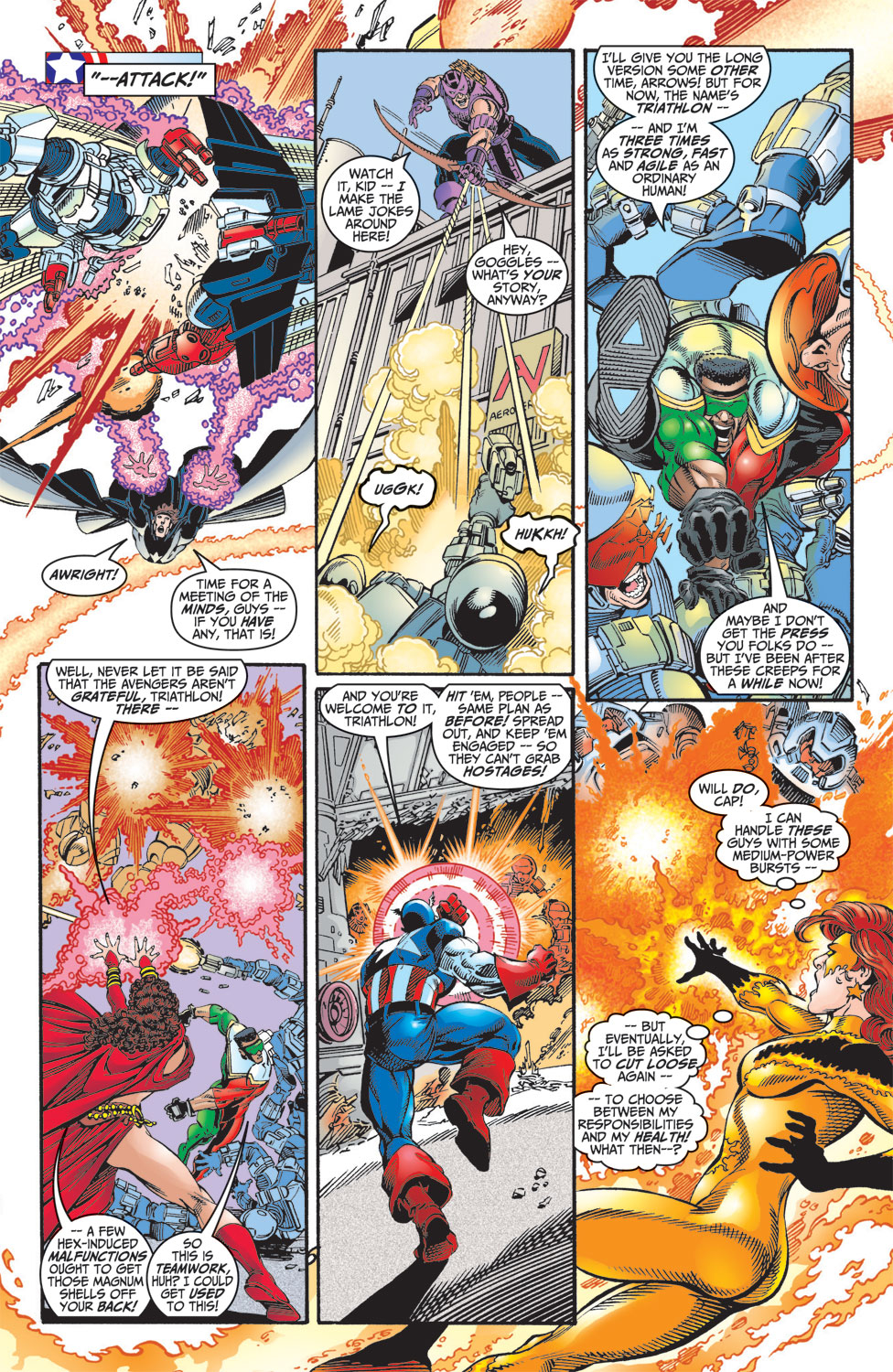 Read online Avengers (1998) comic -  Issue #8 - 15