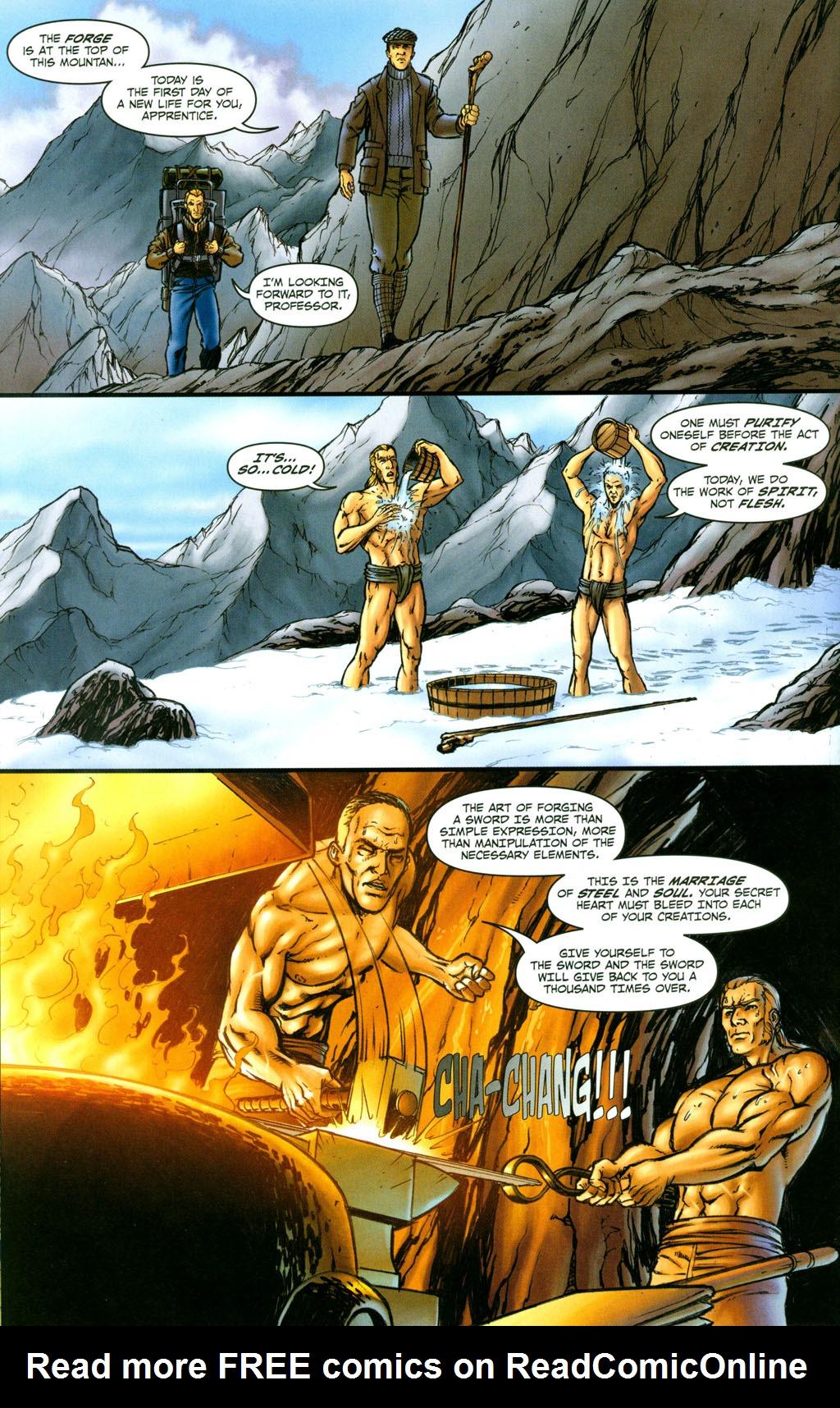 Read online Snake Eyes: Declassified comic -  Issue #4 - 17