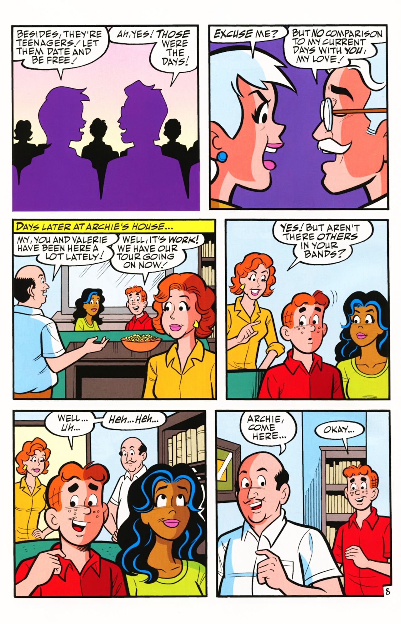 Read online Archie (1960) comic -  Issue #609 - 12