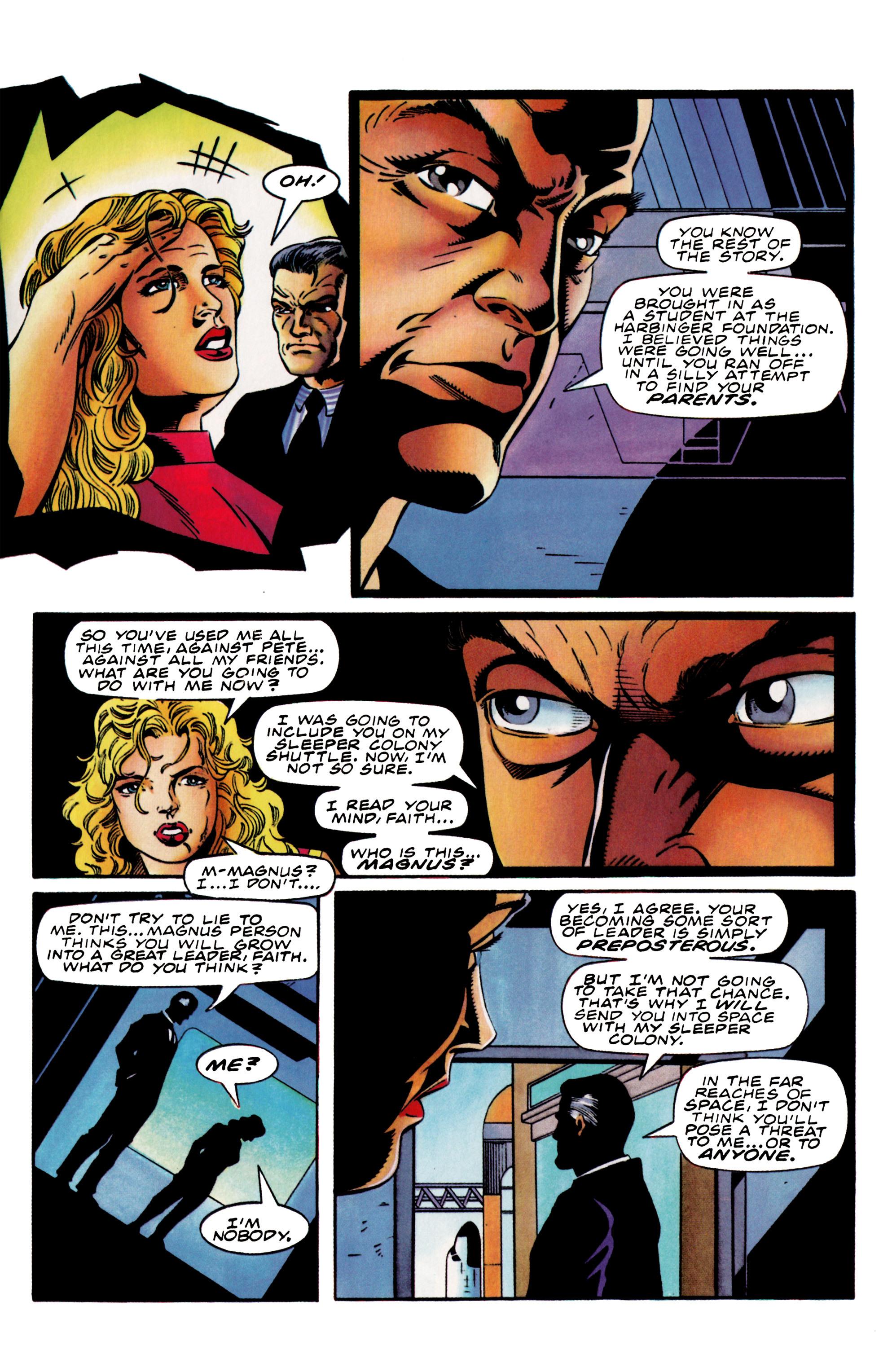 Read online Harbinger (1992) comic -  Issue #37 - 10