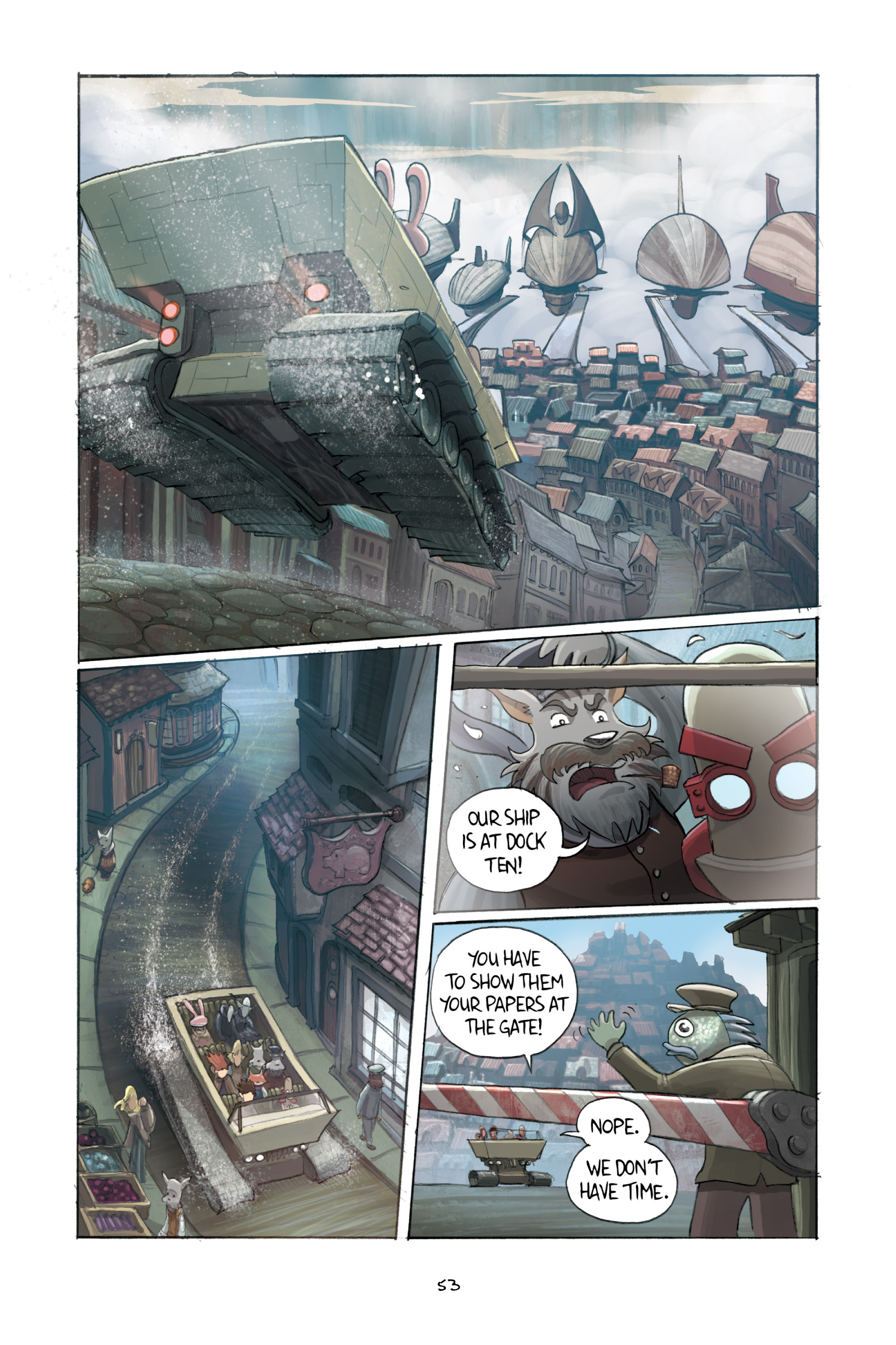 Read online Amulet comic -  Issue #3 - 52