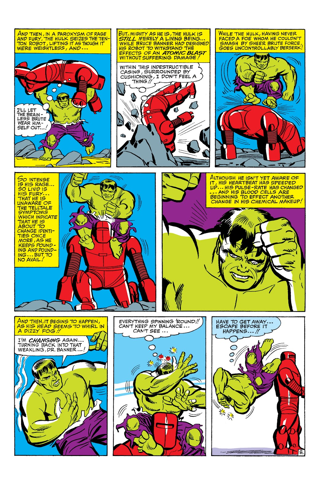 Read online Marvel Masterworks: The Incredible Hulk comic -  Issue # TPB 2 (Part 1) - 31