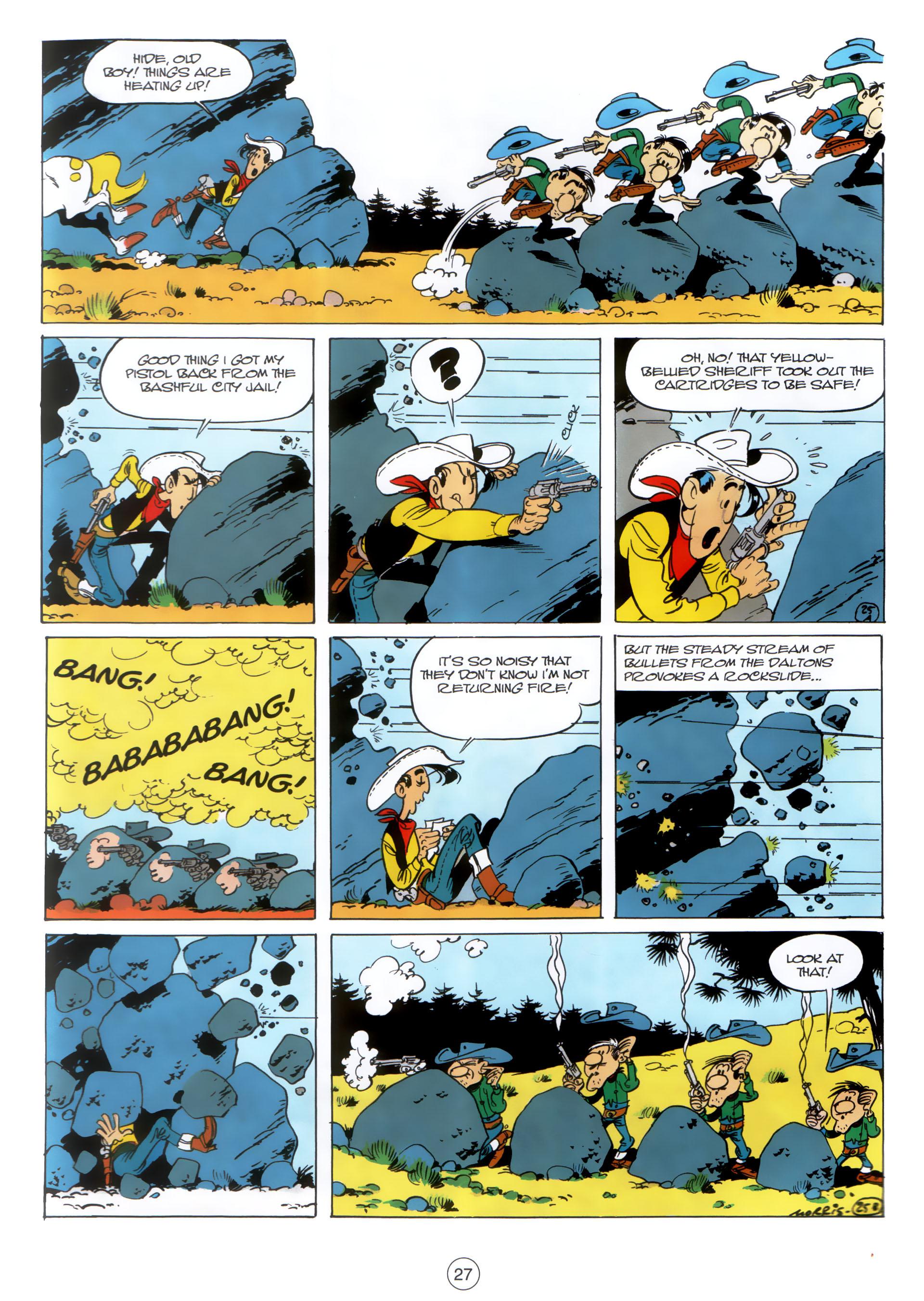 Read online A Lucky Luke Adventure comic -  Issue #30 - 26