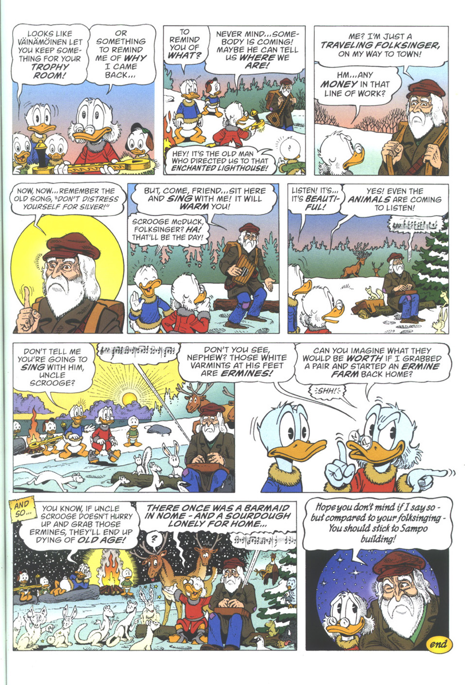 Read online Uncle Scrooge (1953) comic -  Issue #334 - 35