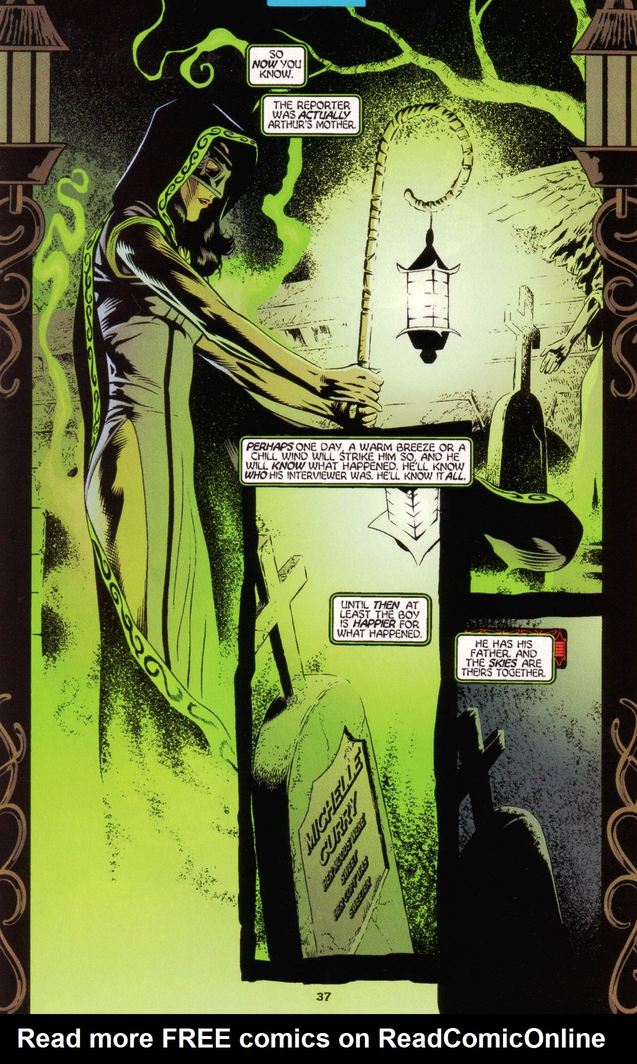 Read online Tangent Comics/ Green Lantern comic -  Issue # Full - 38