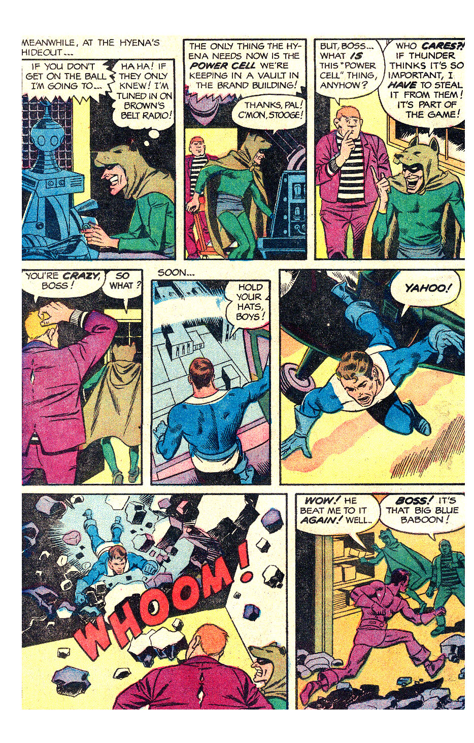 T.H.U.N.D.E.R. Agents (1965) issue 17 - Page 10