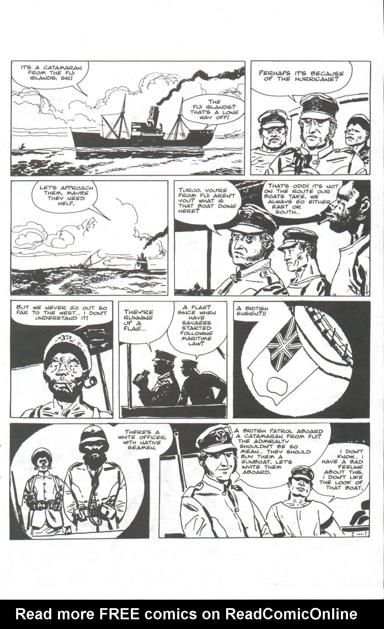 Read online Corto Maltese: Ballad of the Salt Sea comic -  Issue #1 - 11