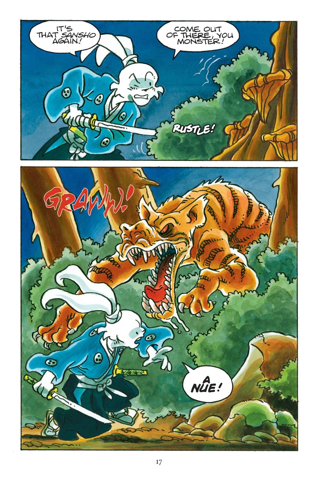 Read online Usagi Yojimbo: Yokai comic -  Issue # Full - 18