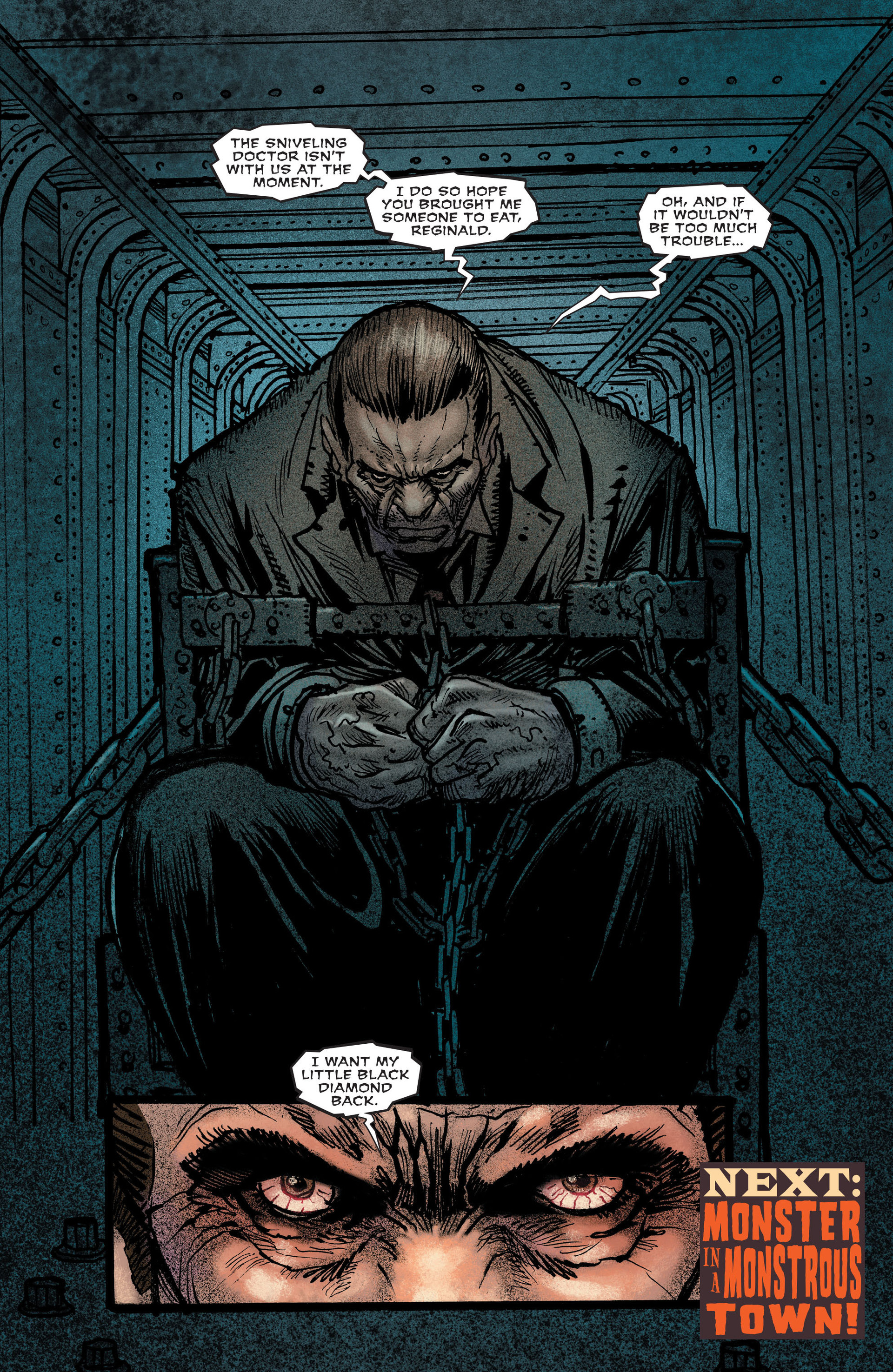 Read online All-Star Western (2011) comic -  Issue #13 - 21