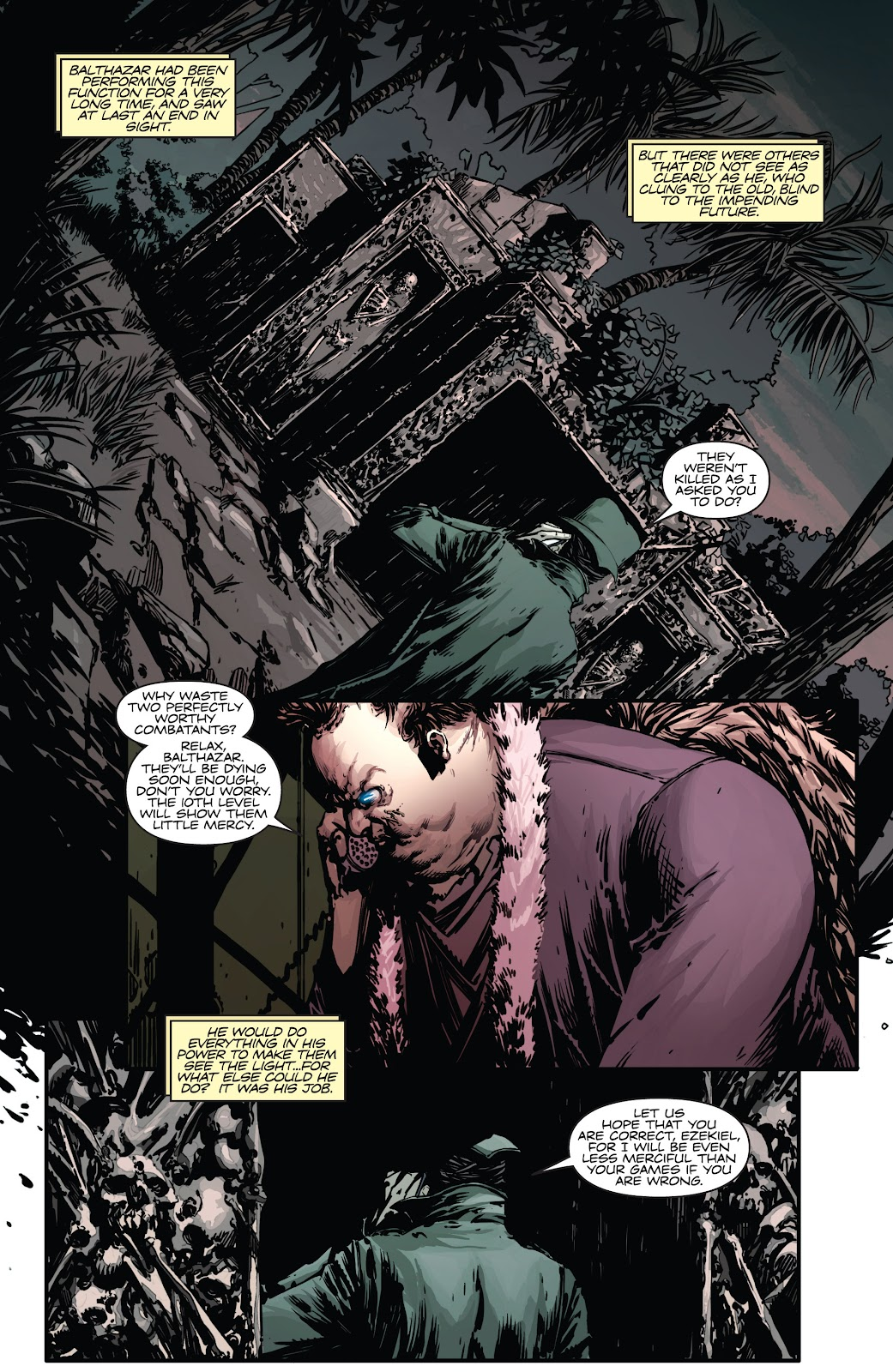 Read online Vampirella Strikes comic -  Issue #4 - 5