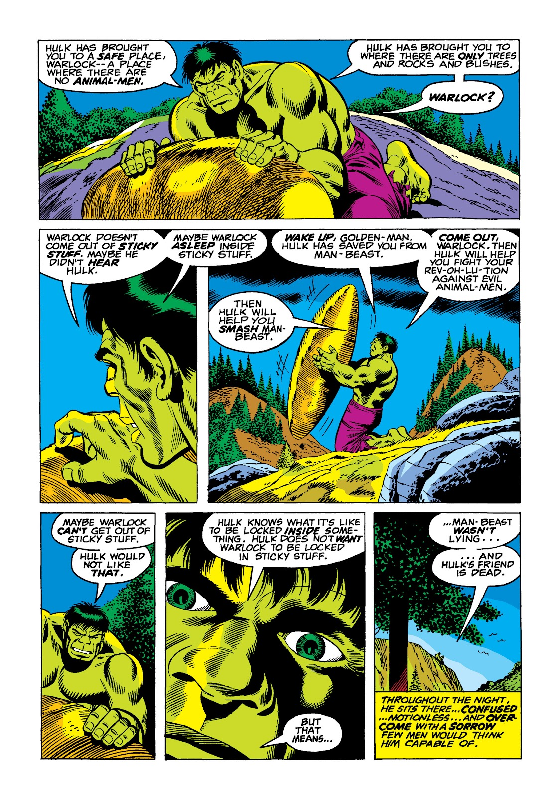 Read online Marvel Masterworks: The Incredible Hulk comic -  Issue # TPB 10 (Part 2) - 51
