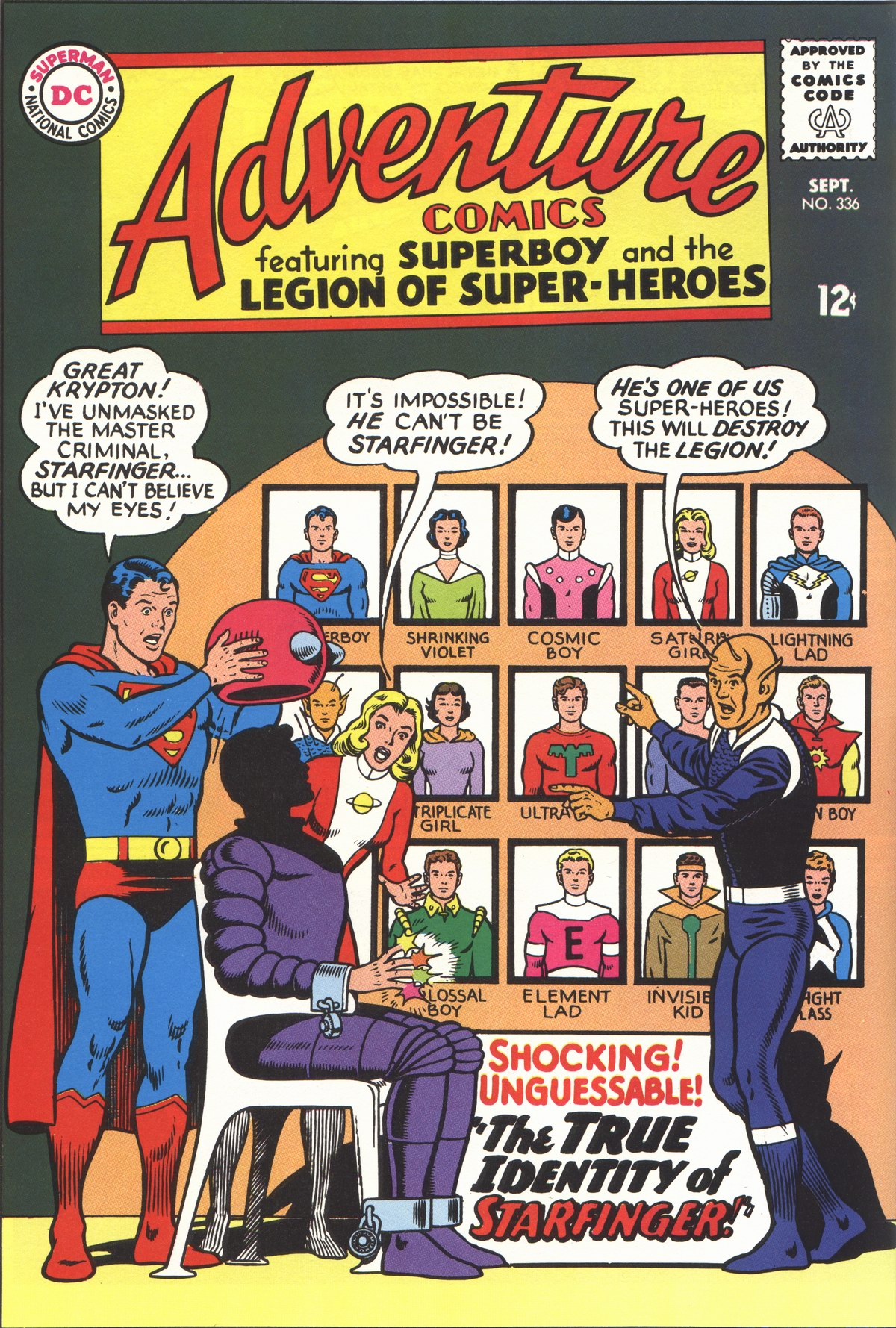 Read online Adventure Comics (1938) comic -  Issue #336 - 1