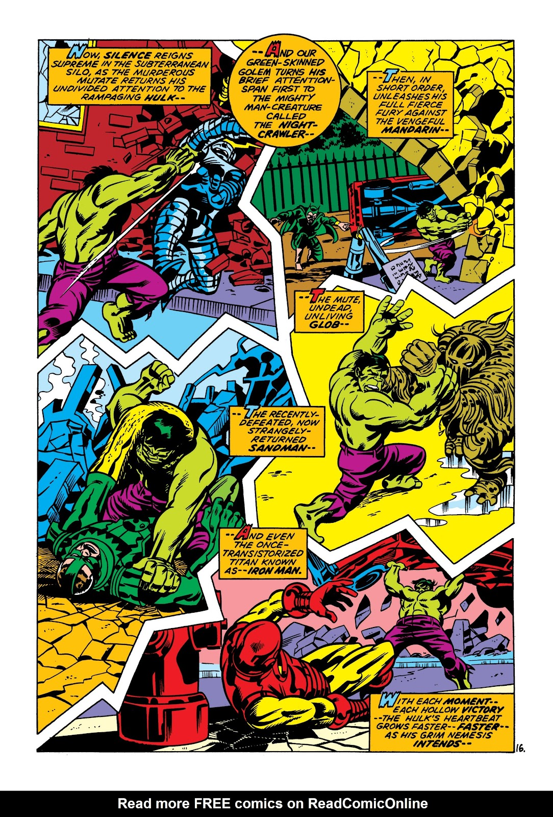 Read online Marvel Masterworks: The Incredible Hulk comic -  Issue # TPB 7 (Part 2) - 2